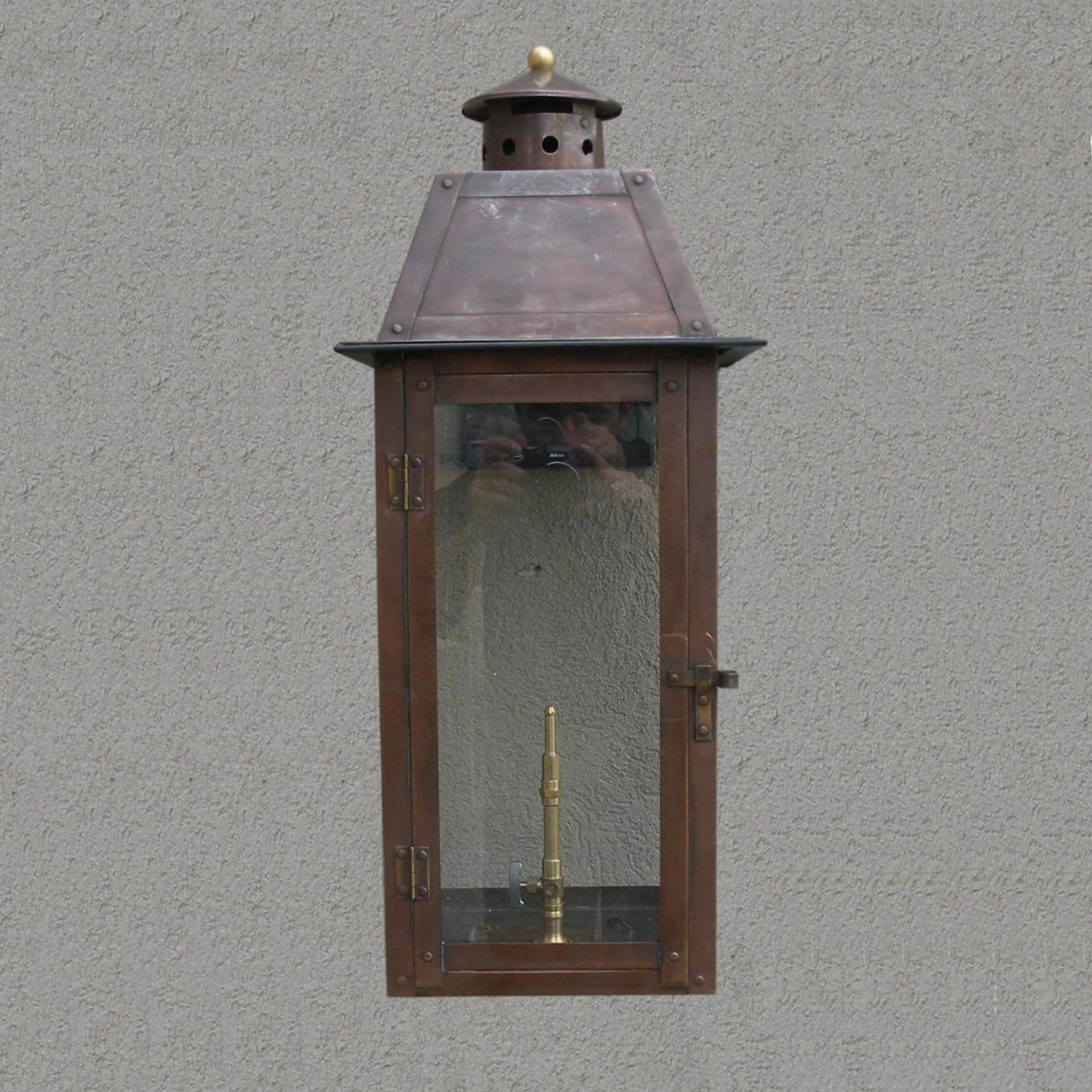 Regency Gl25 Monroe Rue Natural Gas Light With Open Flame Burner And In Current Outdoor Gas Lanterns (View 17 of 20)