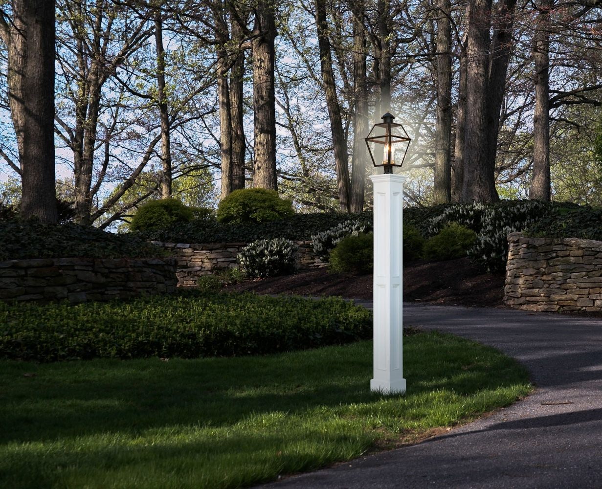 Royal Crowne For Outdoor Lanterns For Posts (View 14 of 20)