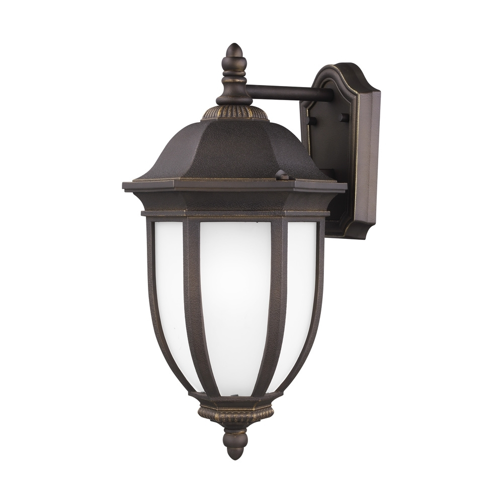 Rust Proof Outdoor Lanterns With Regard To Most Popular Large One Light Outdoor Wall Lantern : A1Mw (View 13 of 20)