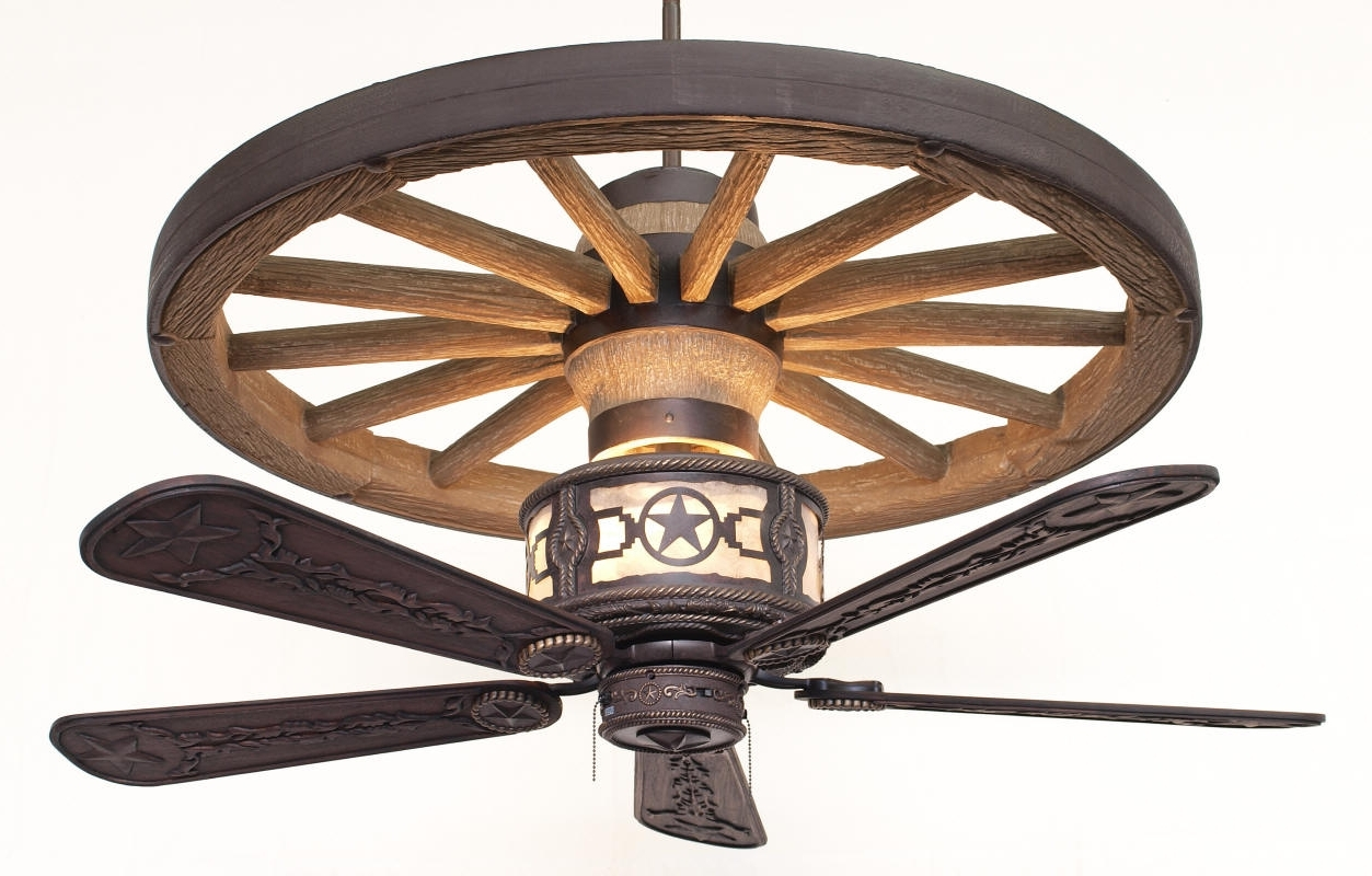 Rustic Outdoor Ceiling Fans Pertaining To Newest Ceiling: Astounding Rustic Ceiling Fans Antler Ceiling Fans Rustic (View 13 of 20)