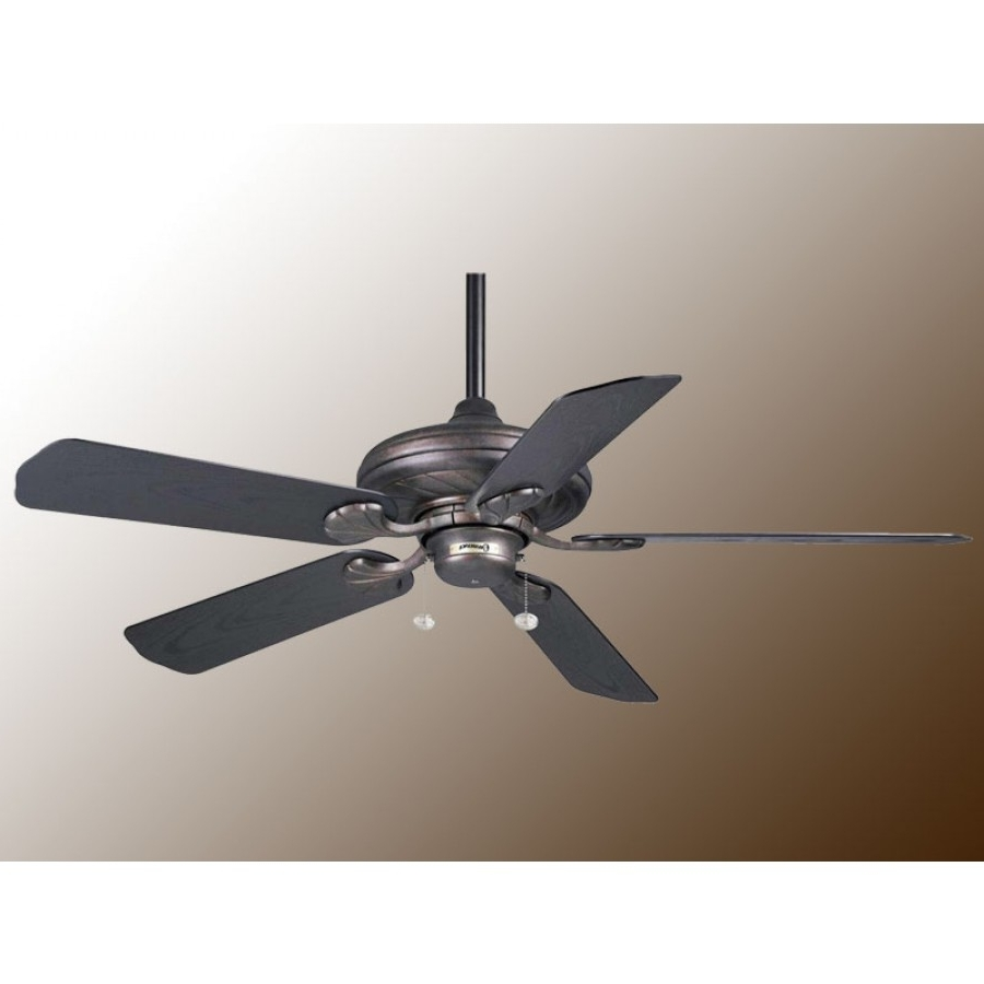 Rustic Outdoor Ceiling Fans With Lights Pertaining To Newest Lanai Ceiling Fancasablanca – Wet Outdoor Ceiling Fans (View 14 of 20)