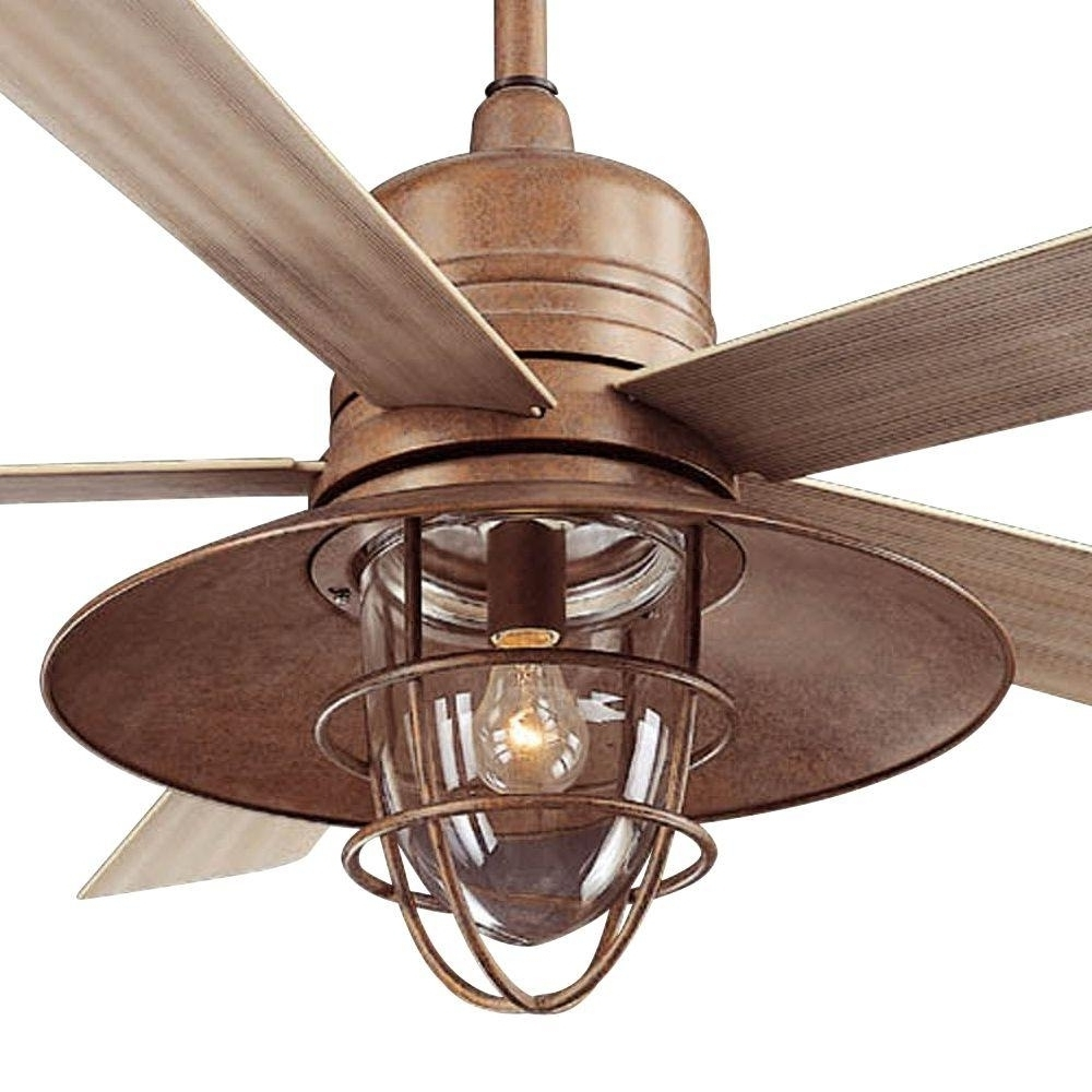 Rustic Outdoor Ceiling Fanslarge Size Of Ceiling Fans, Rustic Regarding Most Popular Copper Outdoor Ceiling Fans (View 17 of 20)