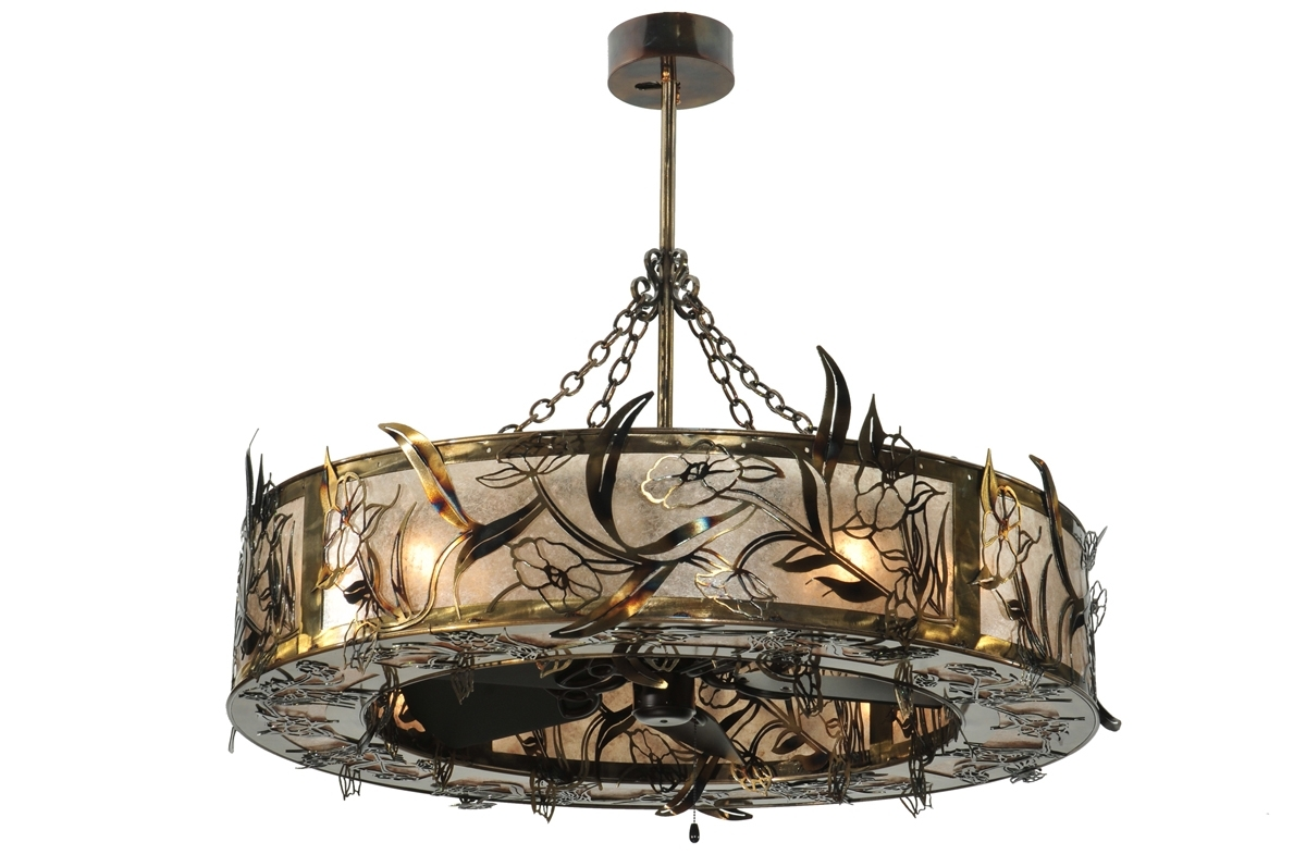 Rustic Outdoor Ceiling Lights Fans With Mount Fan Light Kit Fixtures Regarding Most Recently Released Victorian Style Outdoor Ceiling Fans (View 17 of 20)