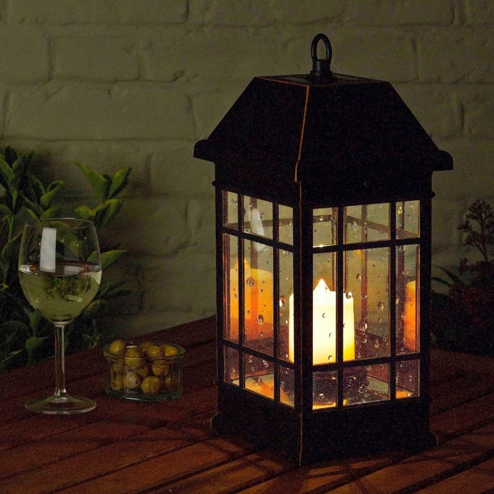 Seville Solar Lantern Within Recent Outdoor Lanterns For Tables (View 6 of 20)