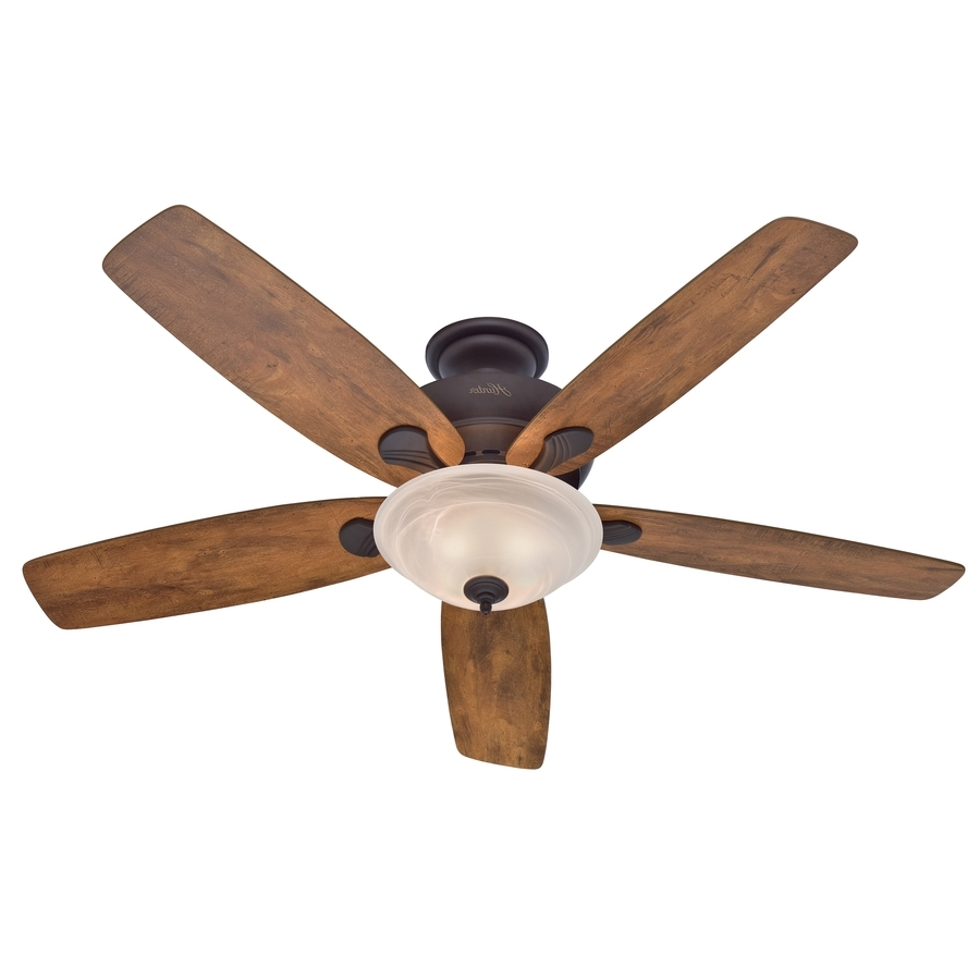 Shop Ceiling Fans At Lowes Intended For Best And Newest Hunter Outdoor Ceiling Fans With Lights And Remote (View 19 of 20)