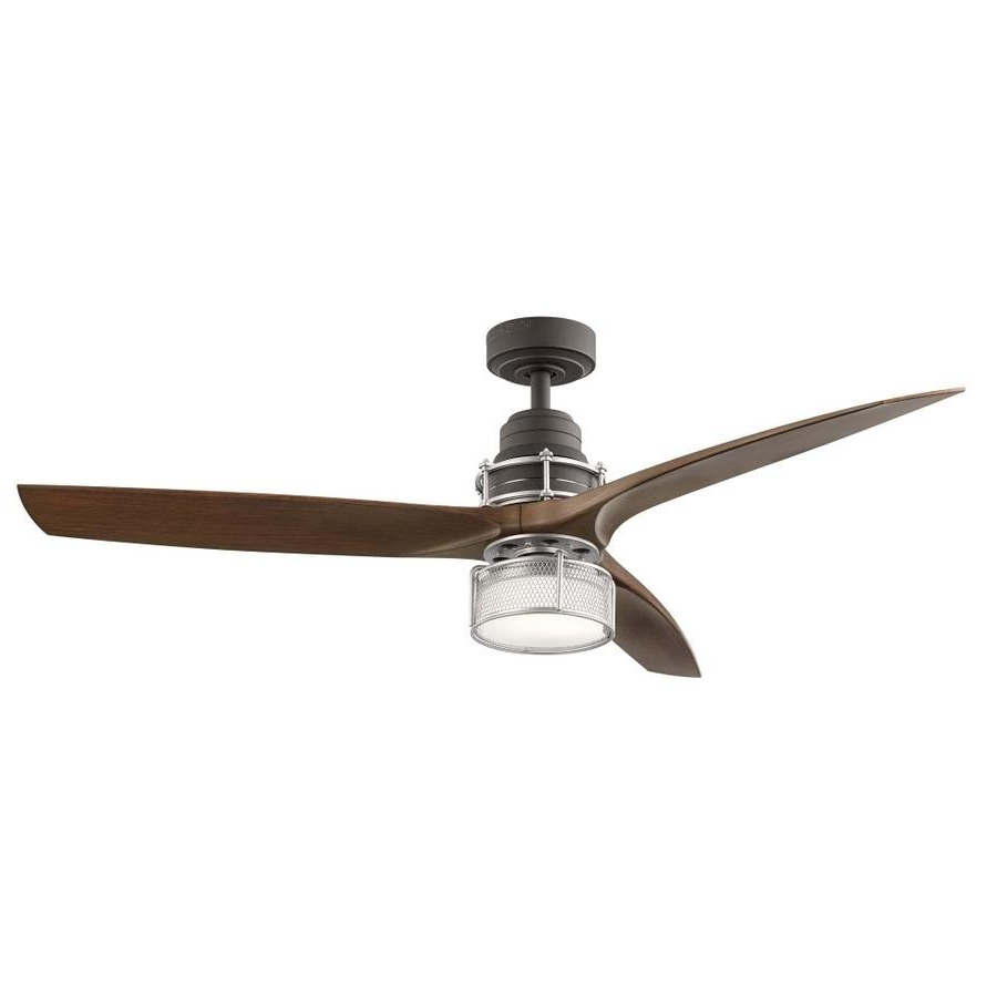 Shop Ceiling Fans At Lowes Pertaining To 2019 48 Outdoor Ceiling Fans With Light Kit (View 14 of 20)