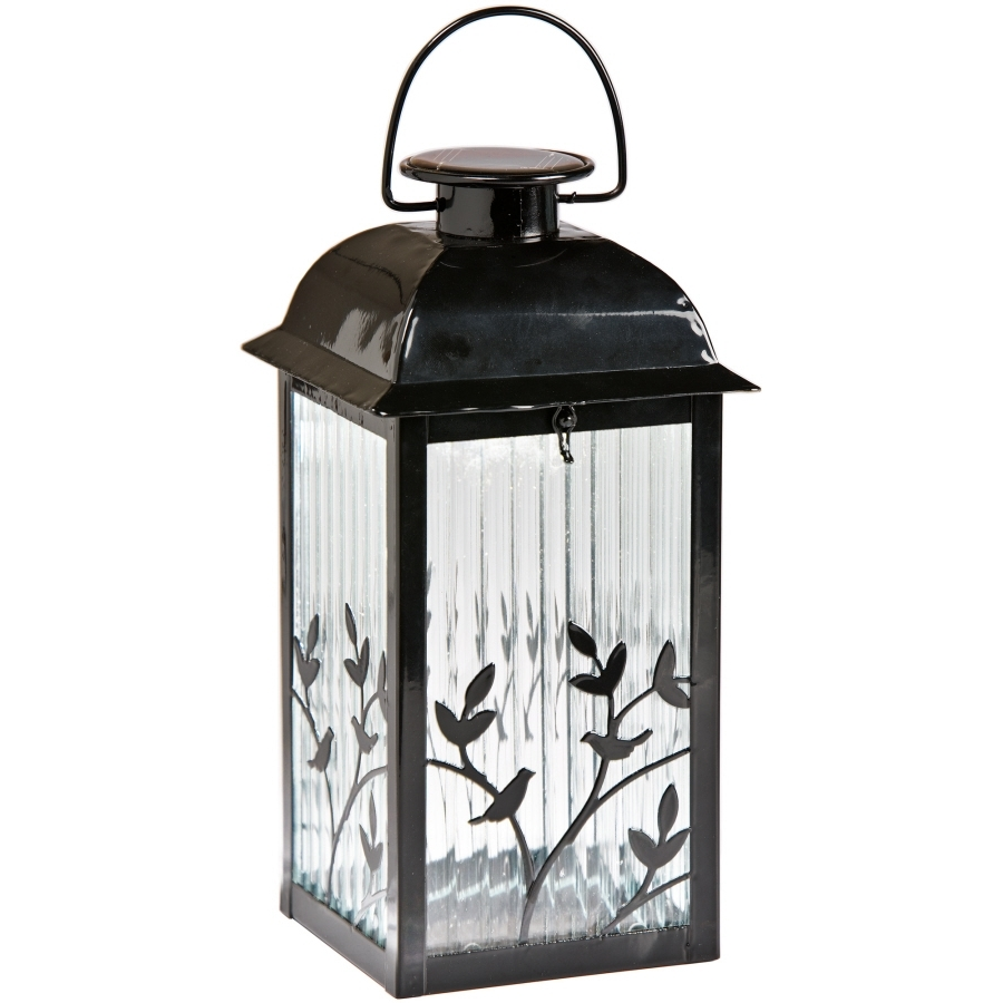 Shop Outdoor Decorative Lanterns At Lowes Inside Most Current Outdoor Glass Lanterns (View 10 of 20)