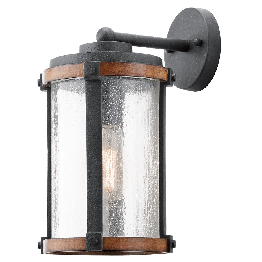 Shop Outdoor Wall Lights At Lowes Throughout Best And Newest Extra Large Outdoor Lanterns (View 15 of 20)
