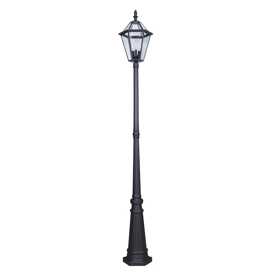 Shop Post Lighting At Lowes For Favorite Outdoor Pole Lanterns (Gallery 8 of 20)