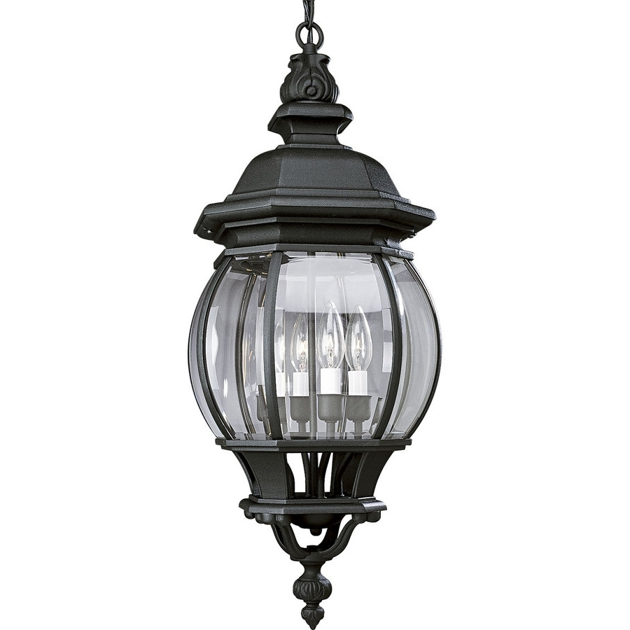 Shop Progress Lighting Onion Lantern Textured Black Hardwired Single With 2019 Outdoor Lighting Onion Lanterns (View 9 of 20)