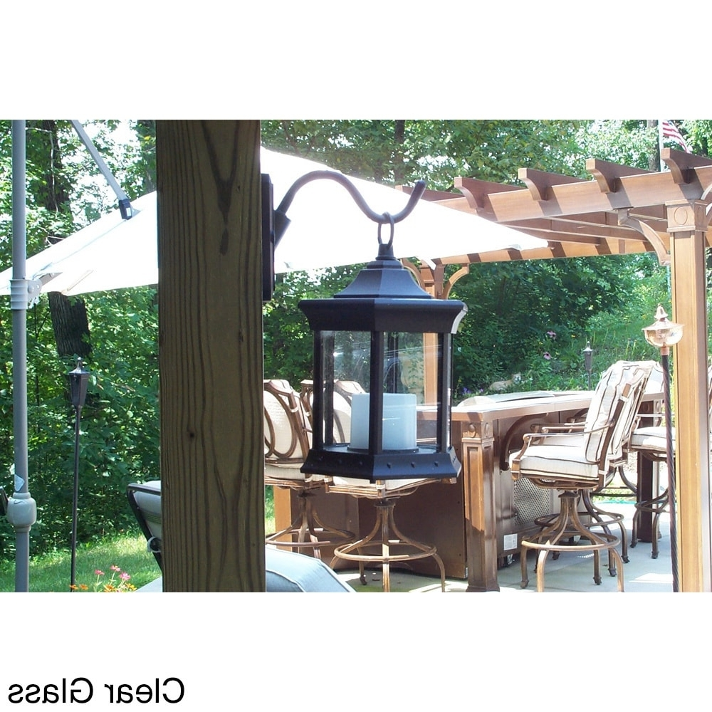 Shop Solar Lantern Aluminum Outdoor Sconce – Free Shipping Today Throughout Most Up To Date Outdoor Gazebo Lanterns (View 19 of 20)