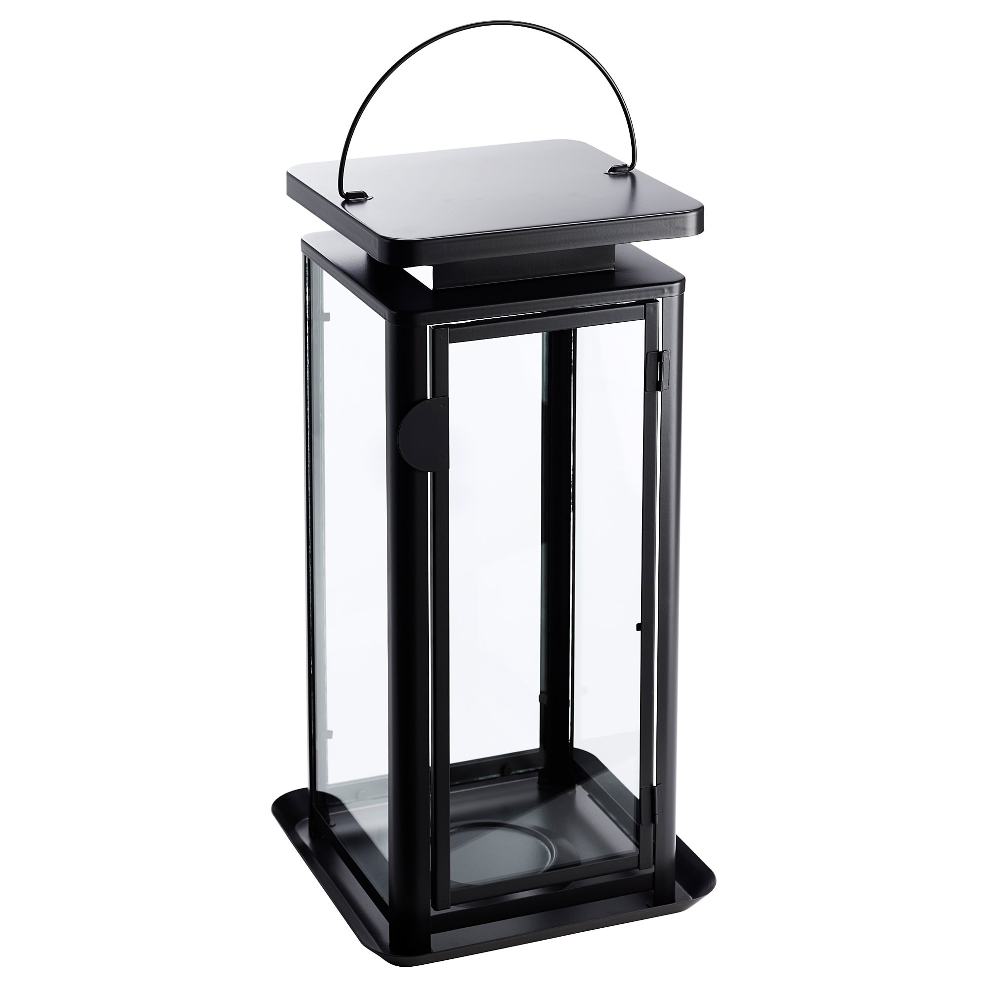Sinnesro Lantern F Block Candle, In/outdoor Grey 45 Cm – Ikea For Latest Outdoor Grey Lanterns (View 18 of 20)
