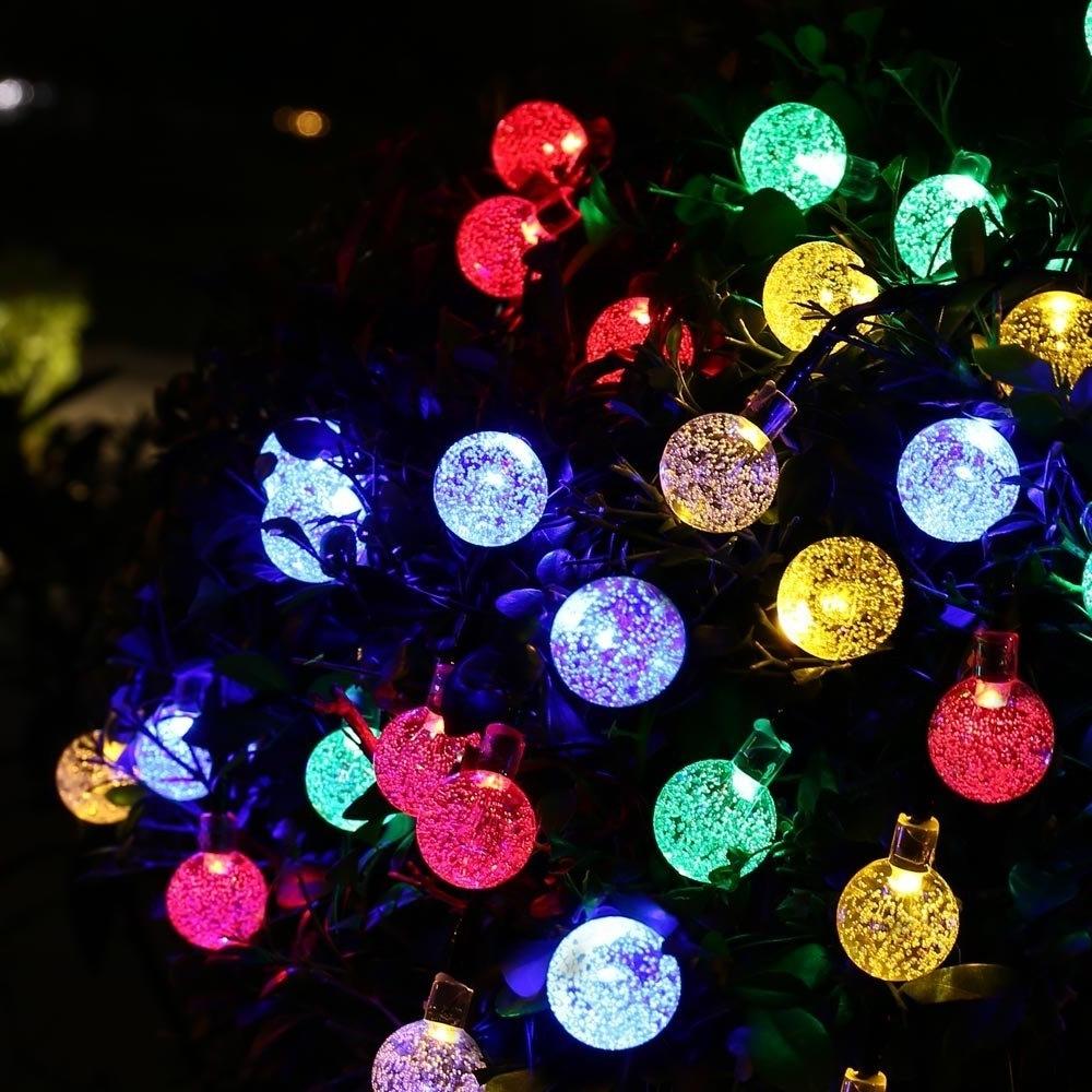 Solar Globes Outdoor Powered Garden Hanging Globe Lights Light Pertaining To 2018 Outdoor Globe Lanterns (View 15 of 20)