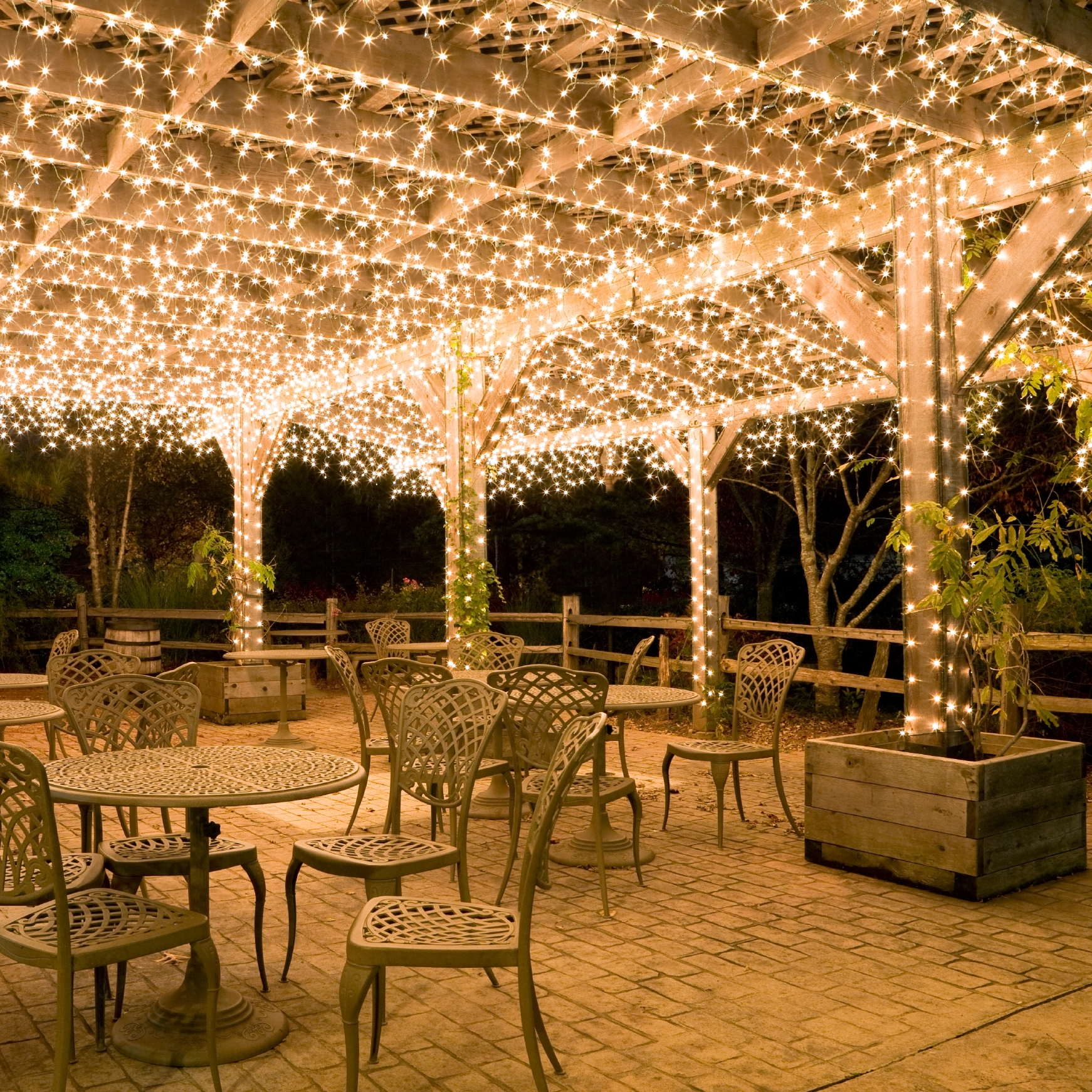 Solar Patio Lighting Ideas Outside Diy Outdoor Yard Landscape Pertaining To Current Outdoor Yard Lanterns (View 14 of 20)