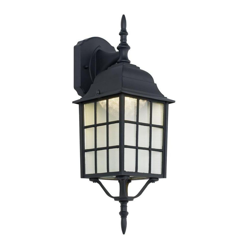 Special Values – Outdoor Lighting – Lighting – The Home Depot Within Trendy Outdoor Lanterns With Led Lights (View 18 of 20)