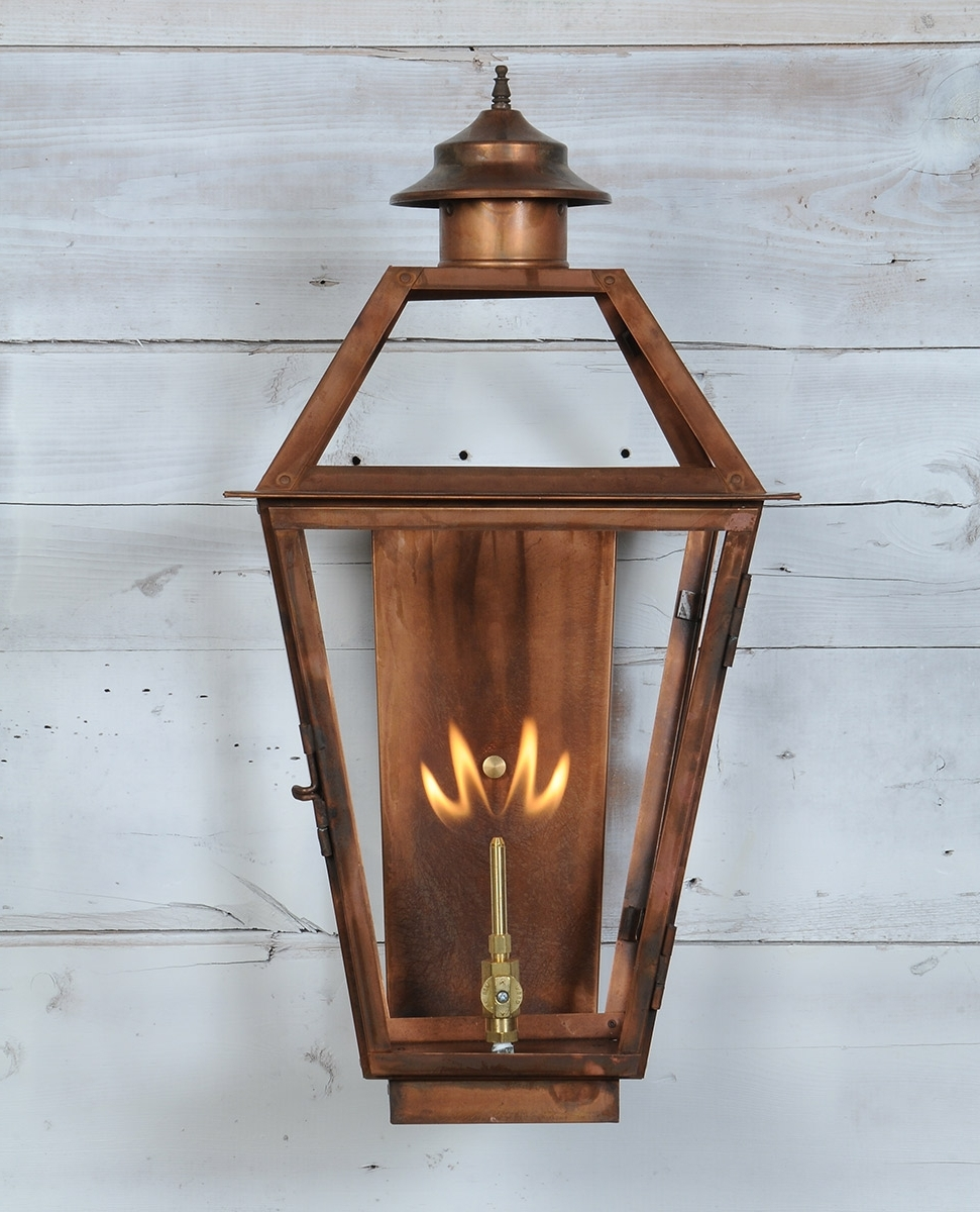 St. James Lighting Throughout Recent Outdoor Gas Lanterns (Gallery 19 of 20)