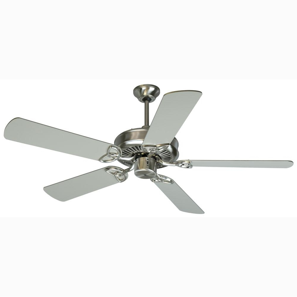 Stainless Steel Outdoor Ceiling Fans Intended For Preferred Stainless Steel Ceiling Fan, Steel Ceiling Fan – Cliff Drive (View 15 of 20)