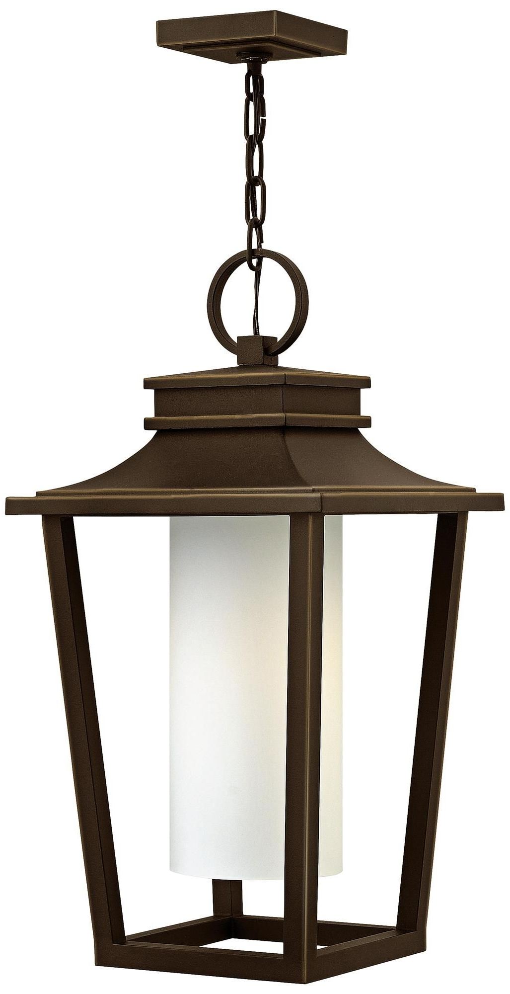 """Sullivan 23"""" High Oil Rubbed Bronze Outdoor Hanging Lantern Intended For Favorite Outdoor Hanging Oil Lanterns (View 19 of 20)"""