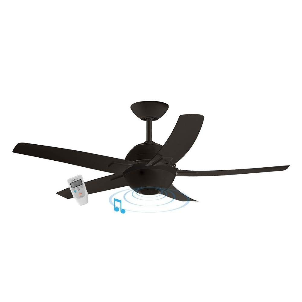 Symphony – Ventair Inside Most Up To Date Outdoor Ceiling Fan With Bluetooth Speaker (Gallery 8 of 20)