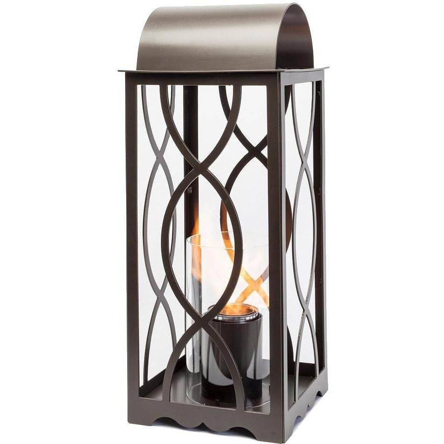 Terra Flame Georgian 20 Inch Gel Lantern – Classic Bronze : Ultimate Throughout Newest Outdoor Gel Lanterns (Gallery 2 of 20)