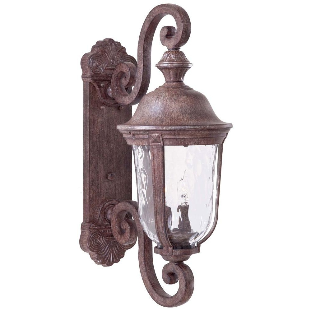 The Great Outdoorsminka Lavery Ardmore 2 Light Vintage Rust Throughout Well Known Antique Outdoor Lanterns (View 6 of 20)