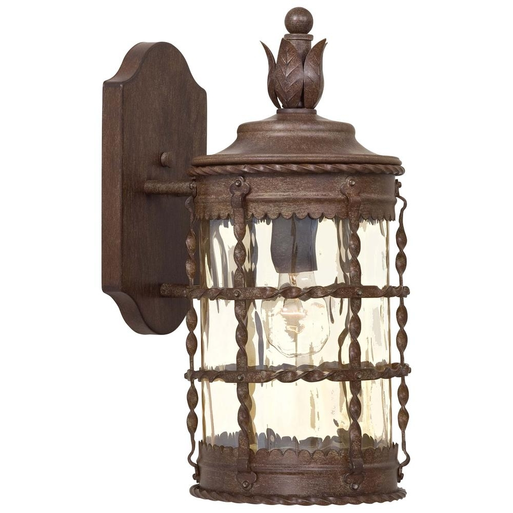 The Great Outdoorsminka Lavery Mallorca 1 Light Vintage Rust Pertaining To Well Liked Vintage Outdoor Lanterns (View 10 of 20)