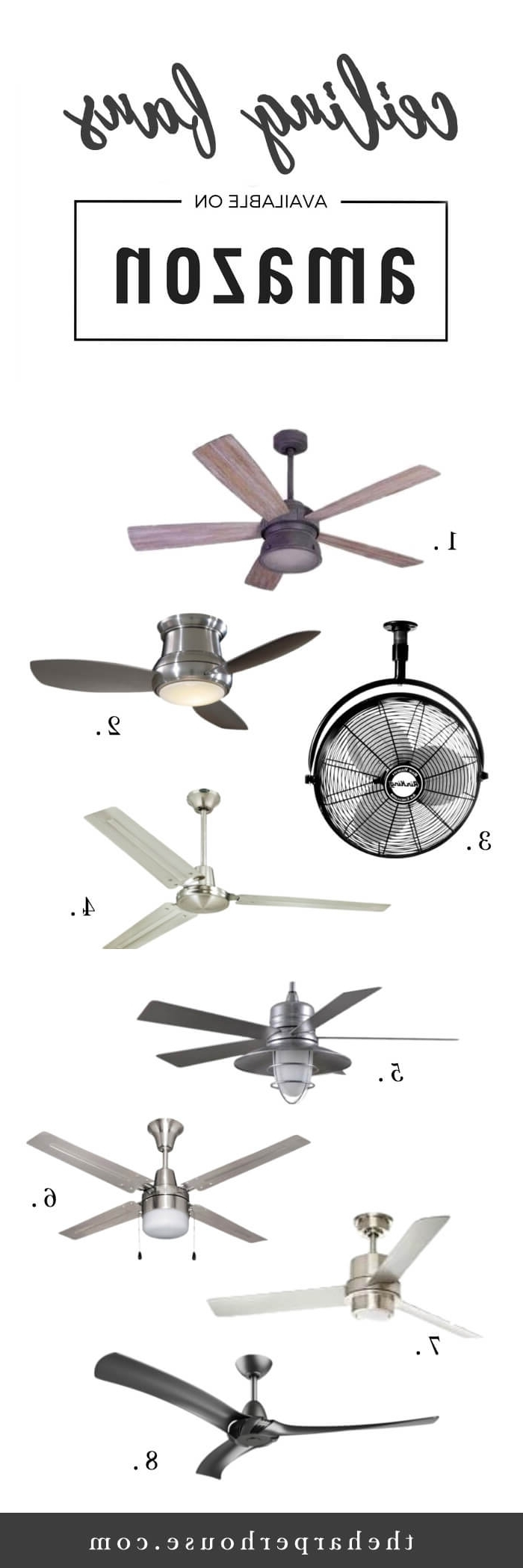 The Harper House Within Popular Joanna Gaines Outdoor Ceiling Fans (View 16 of 20)