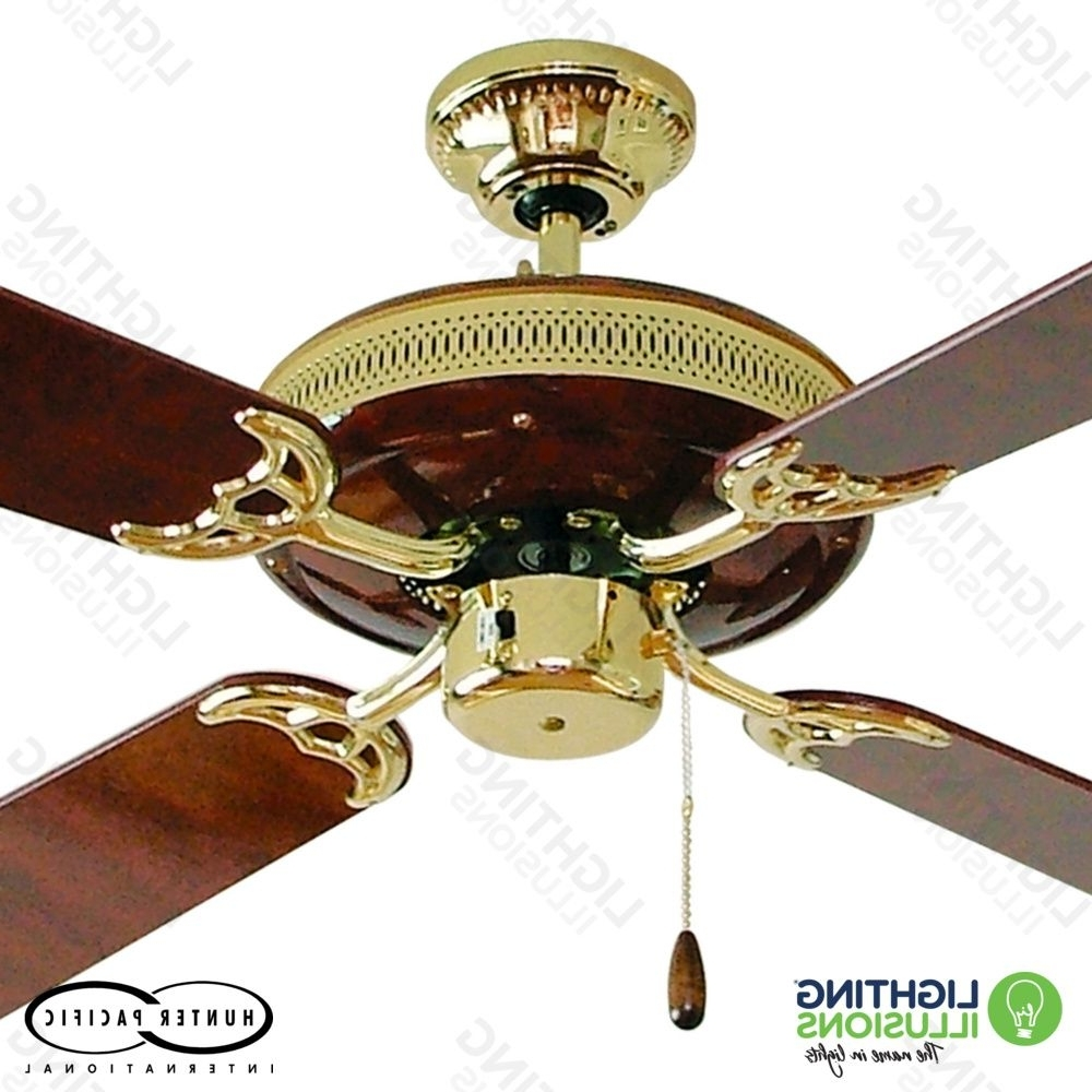 Traditional Ceiling Fans – Ceiling Fans – Lighting Illusions Online Intended For Widely Used Vintage Look Outdoor Ceiling Fans (View 12 of 20)