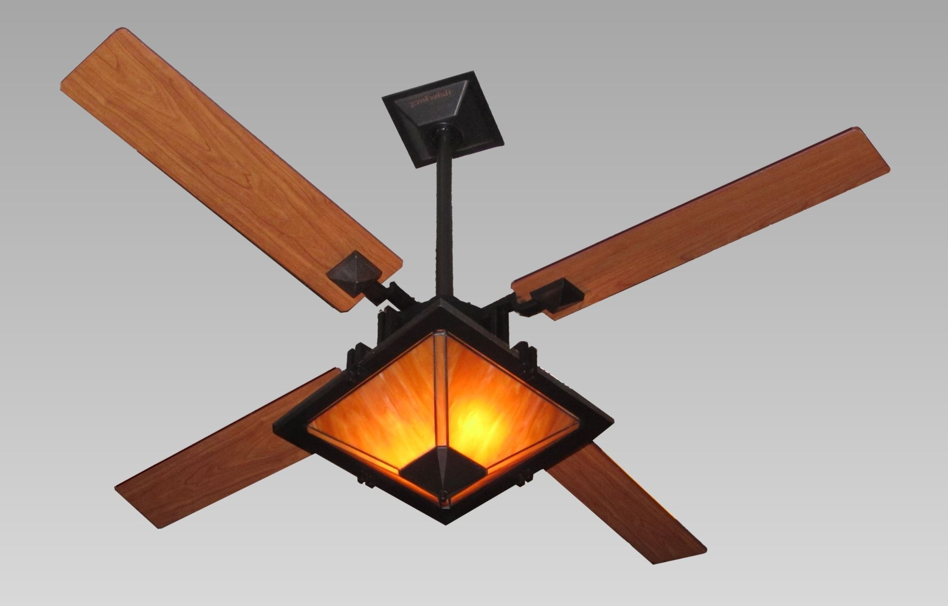 Trendy Enclosed Outdoor Ceiling Fans With Regard To Installing Enclosed Ceiling Fan — The Lucky Design (View 17 of 20)