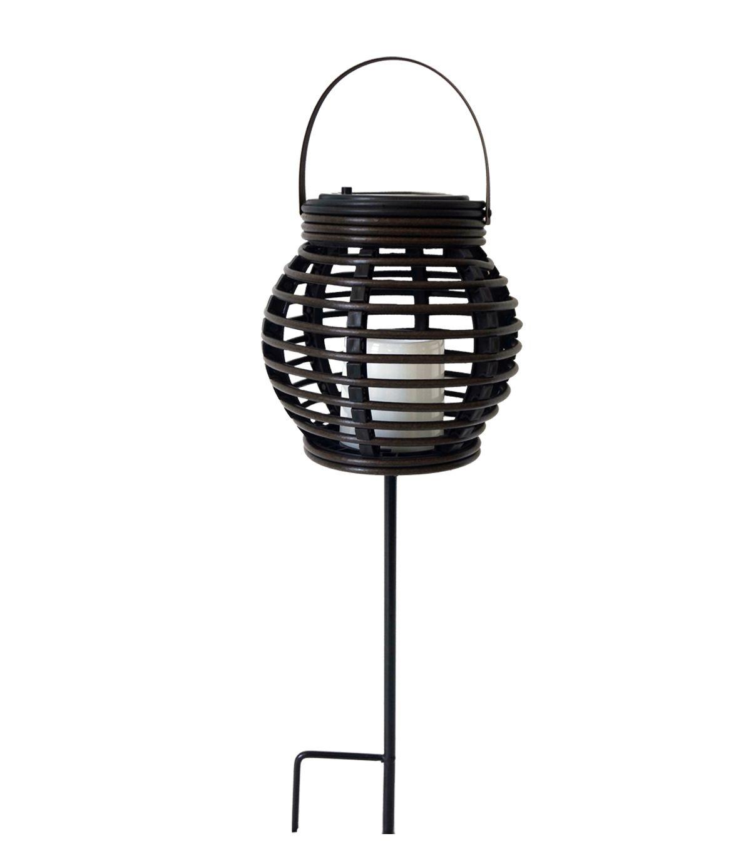 Trendy Escape To Paradise 18'' Solar Stake Lantern (View 9 of 20)