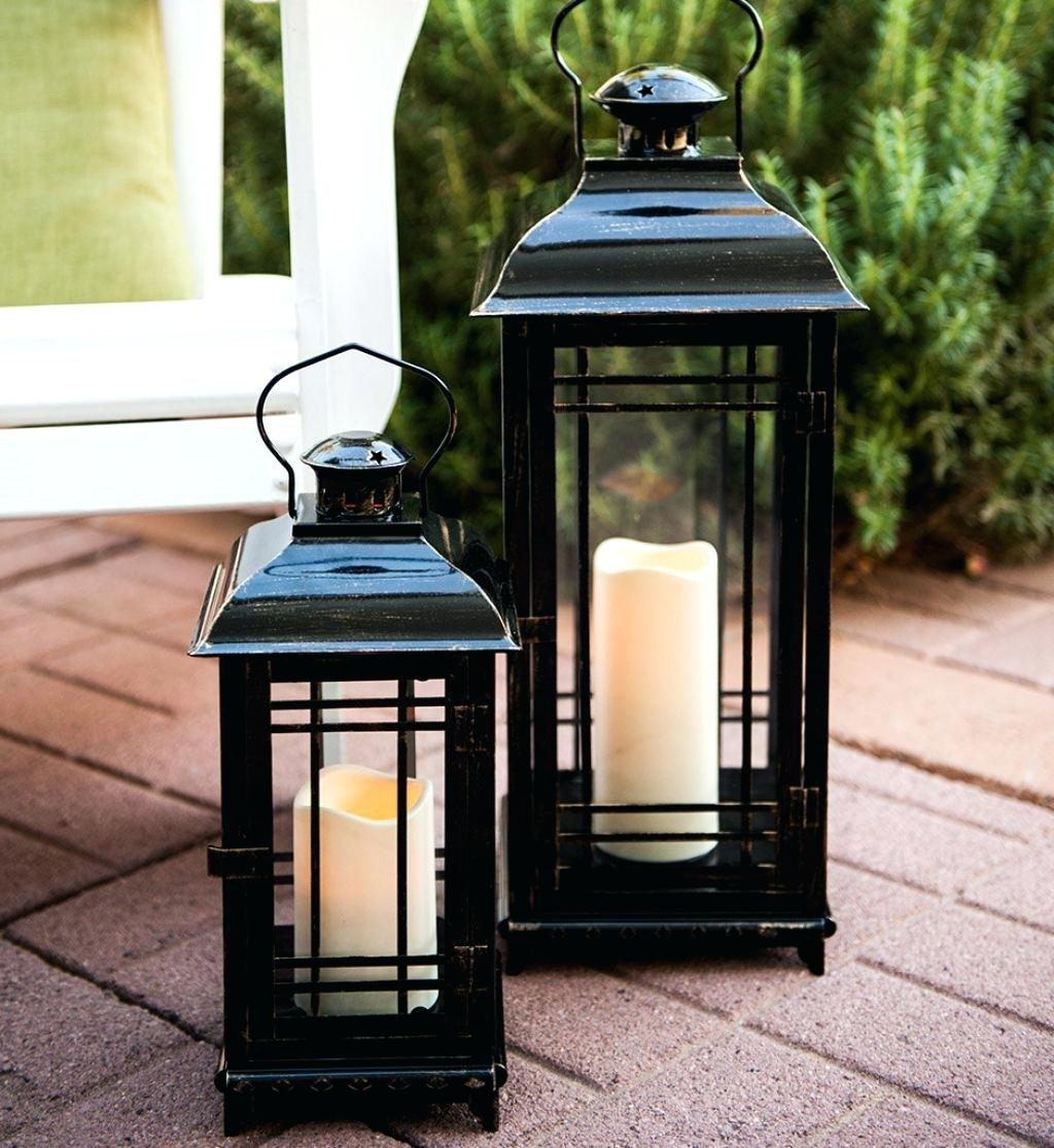 Trendy Extra Large Outdoor Lanterns With Regard To Candles ~ Outdoor Lantern Candle Black Lighting Stunning Candles (View 13 of 20)
