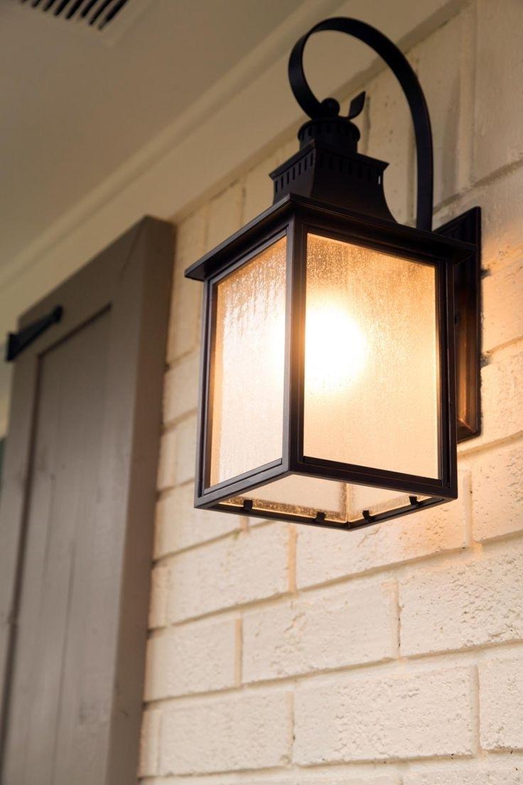 Trendy Front Door Lighting Ideas With Gl And Lamps Flowers Lights Sconces Regarding Outdoor Lanterns For Front Door (View 9 of 20)