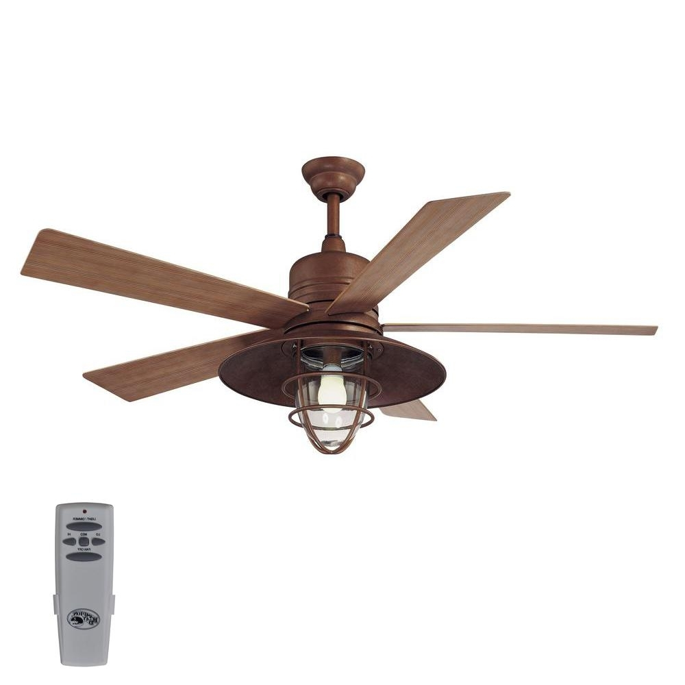 Featured Photo of Rustic Outdoor Ceiling Fans