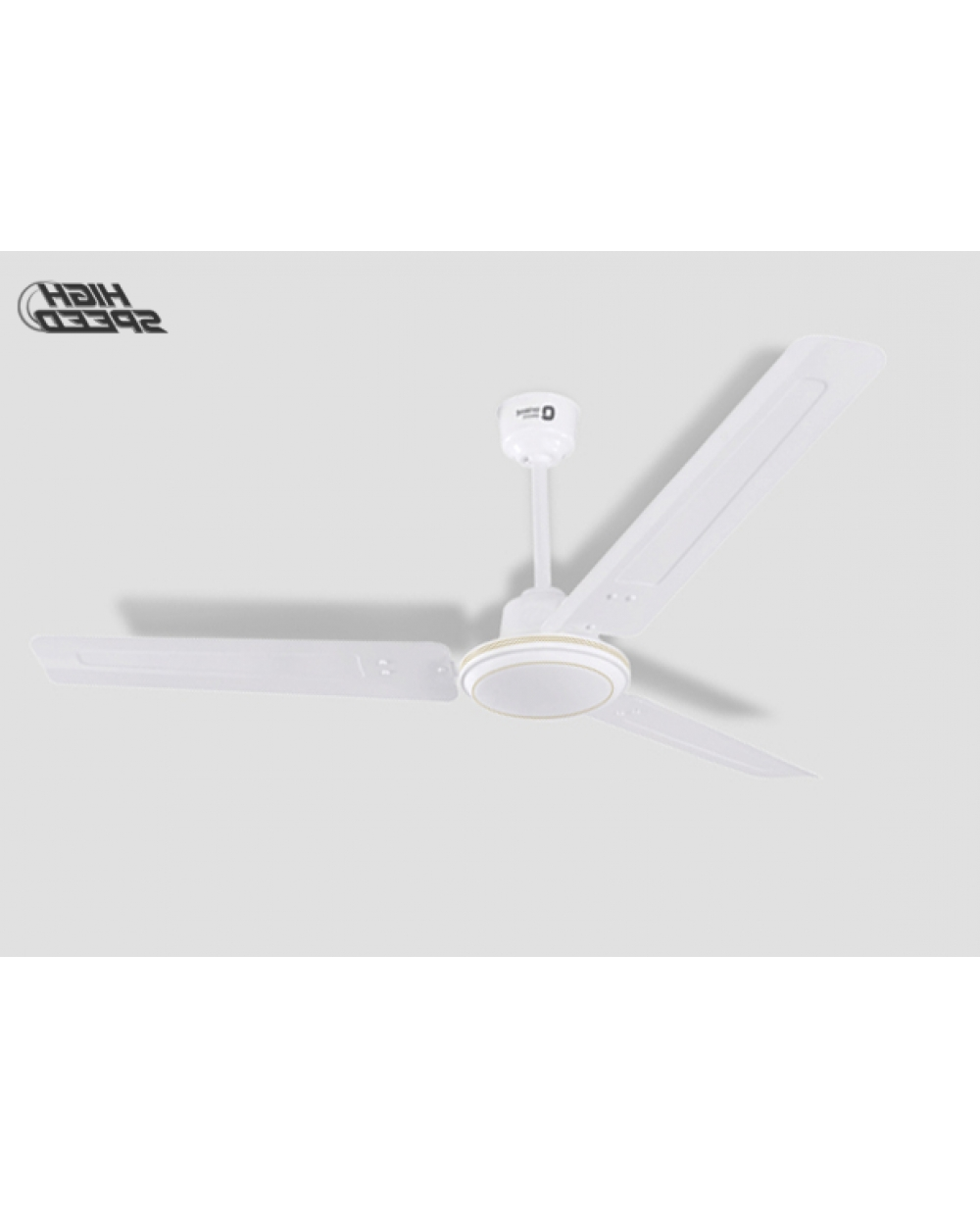 Trendy Hurricane Outdoor Ceiling Fans Inside Orient New Hurricane 48 Inch 68 Watt High Speed Ceiling Fan (White) (View 17 of 20)