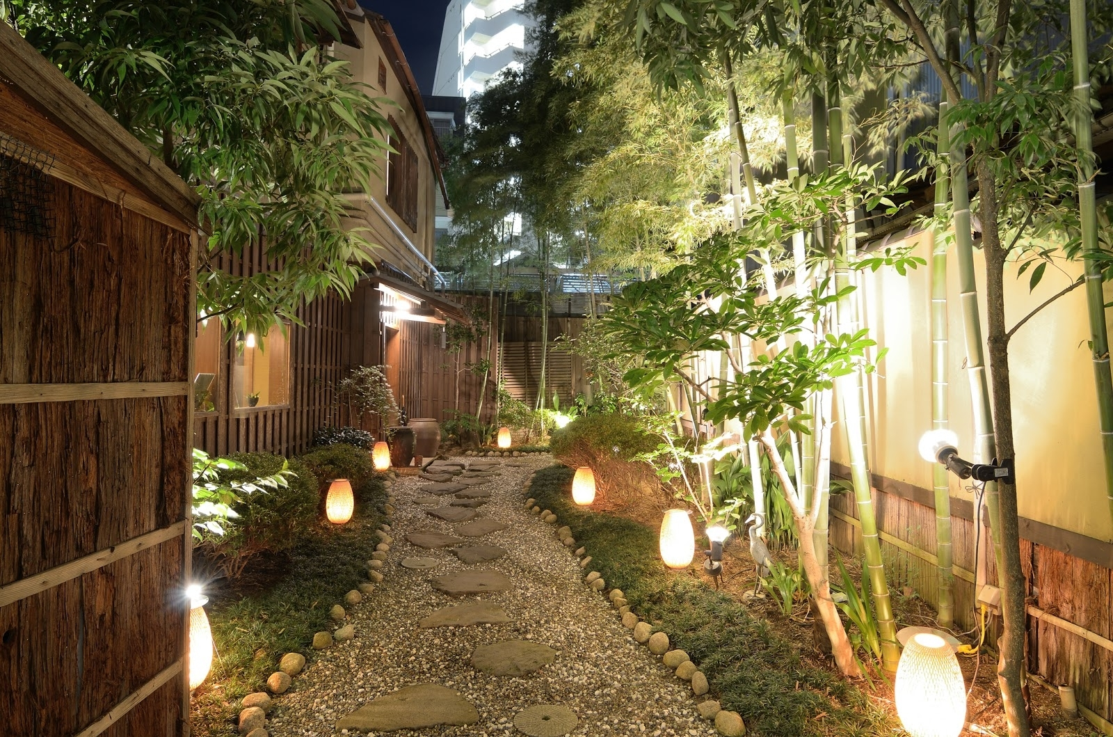 Trendy Japanese Fantasy: Modern Outdoor Lighting And Garden Design With Outdoor Lighting Japanese Lanterns (Gallery 16 of 20)