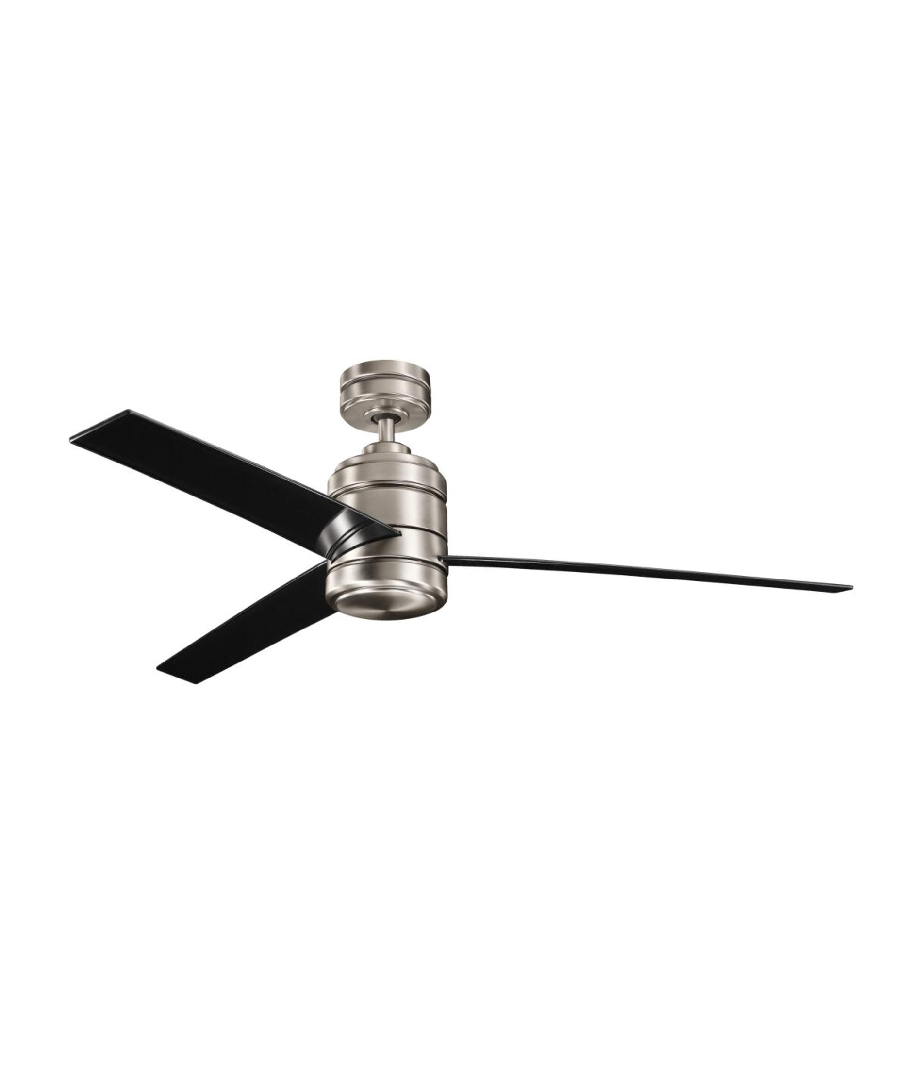 Trendy Kichler 300146 Arkwright 58 Inch 3 Blade Ceiling Fan (View 17 of 20)