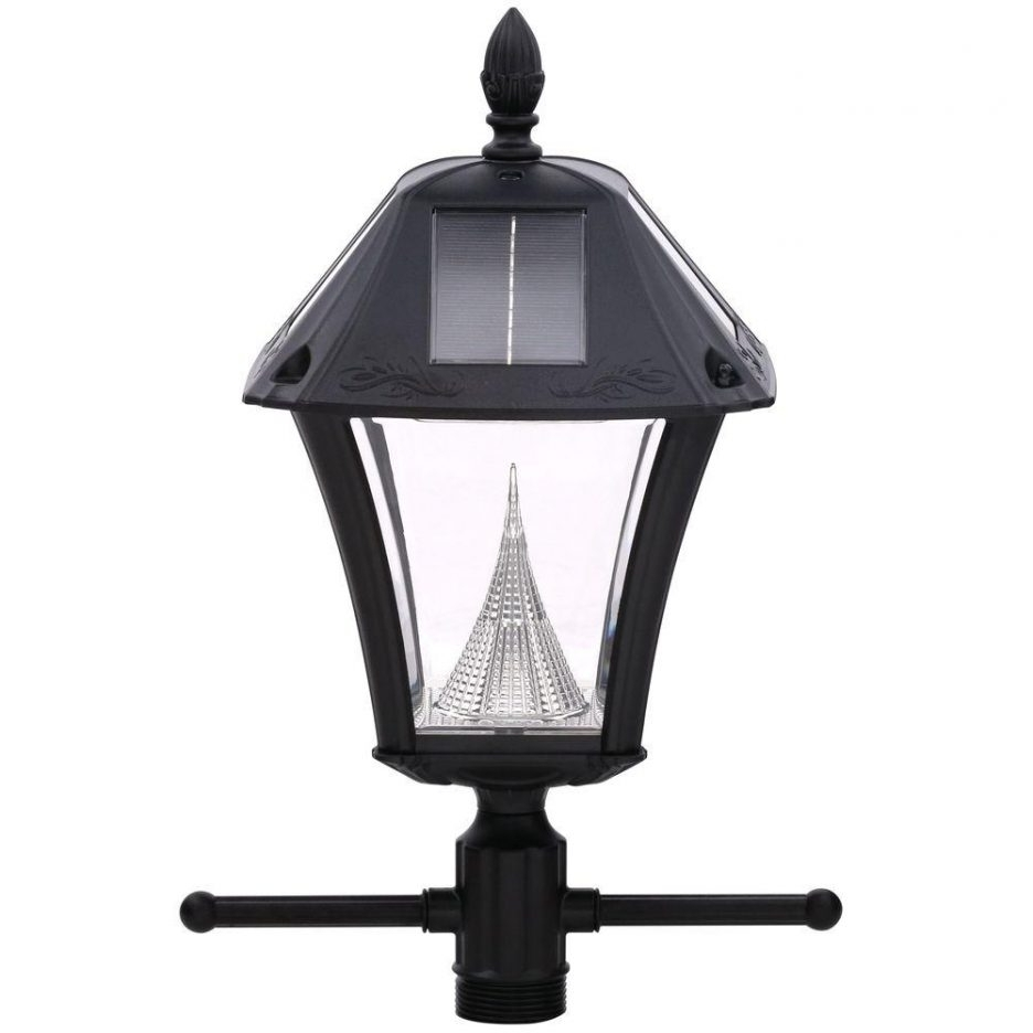 Trendy Light Post White Three Light Lamp Post Outdoor Lantern Pole Lantern Pertaining To Outdoor Pole Lanterns (View 15 of 20)