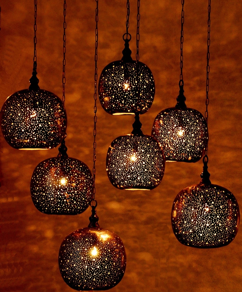 Trendy Moroccan Pendant Lighting, On Designer Pages Pertaining To Moroccan Outdoor Electric Lanterns (View 19 of 20)
