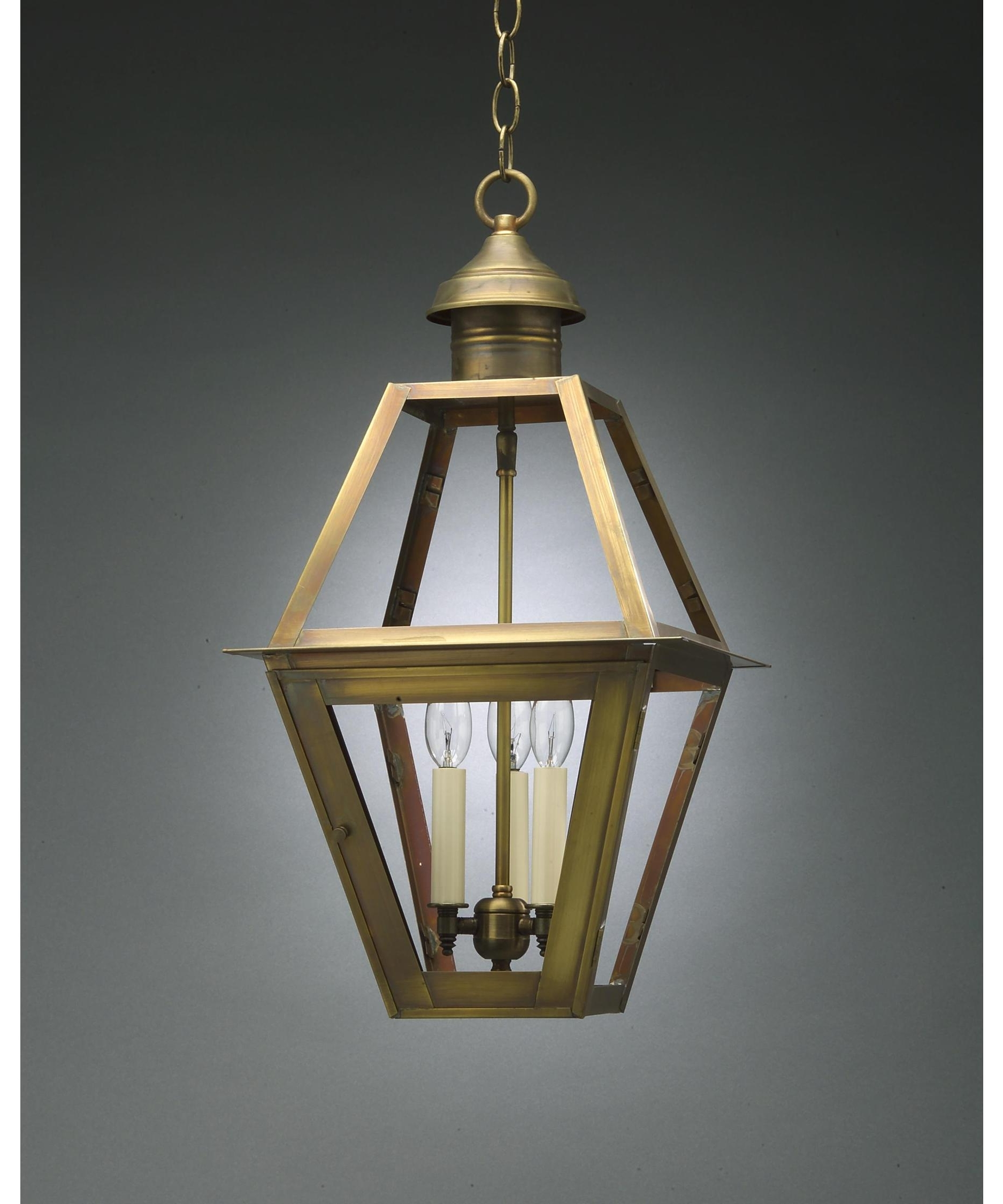 Trendy Northeast Lantern 1012 Lt3 Boston 12 Inch Wide 3 Light Outdoor With Regard To Outdoor Lanterns Without Glass (View 18 of 20)