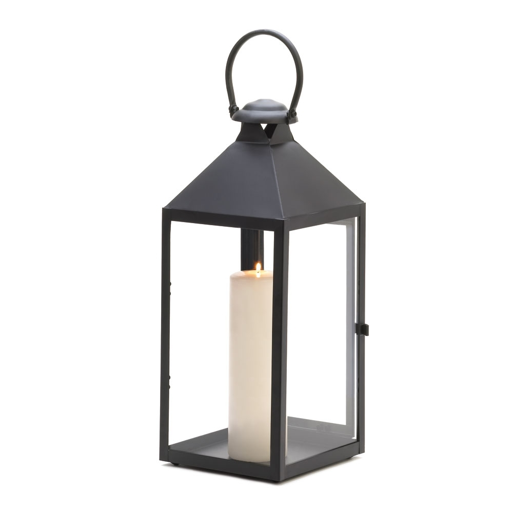 Trendy Outdoor Candle Lanterns #11331 For Black Outdoor Lanterns (View 15 of 20)