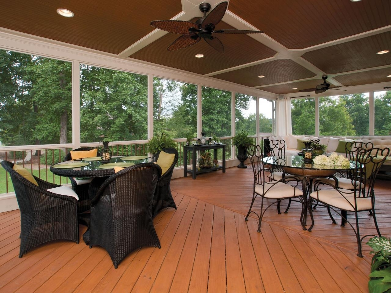 Trendy Outdoor Ceiling Fans For Decks Inside Lighting Your Lovely Outdoor Porch Ceiling Fans With (View 4 of 20)