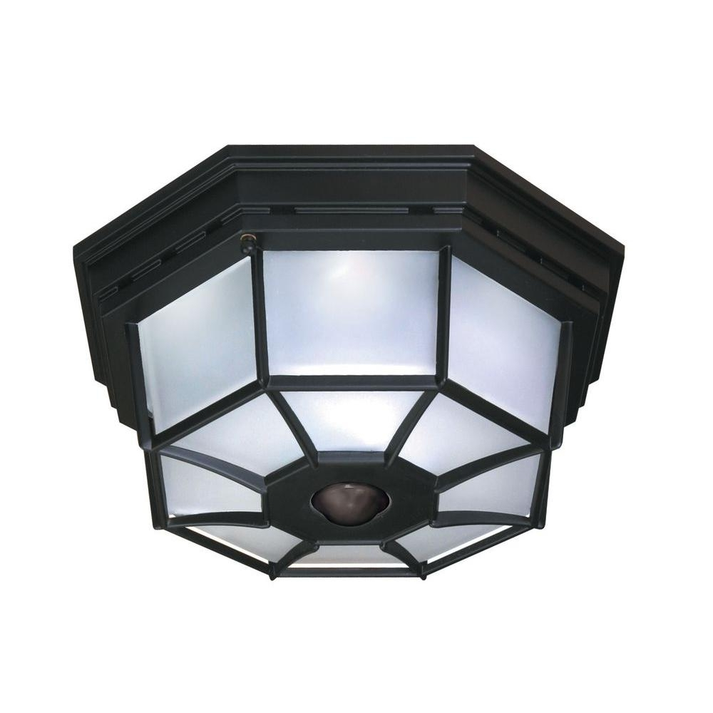 Trendy Outdoor Ceiling Fans With Motion Light With Regard To Motion Sensing – Outdoor Ceiling Lighting – Outdoor Lighting – The (View 19 of 20)
