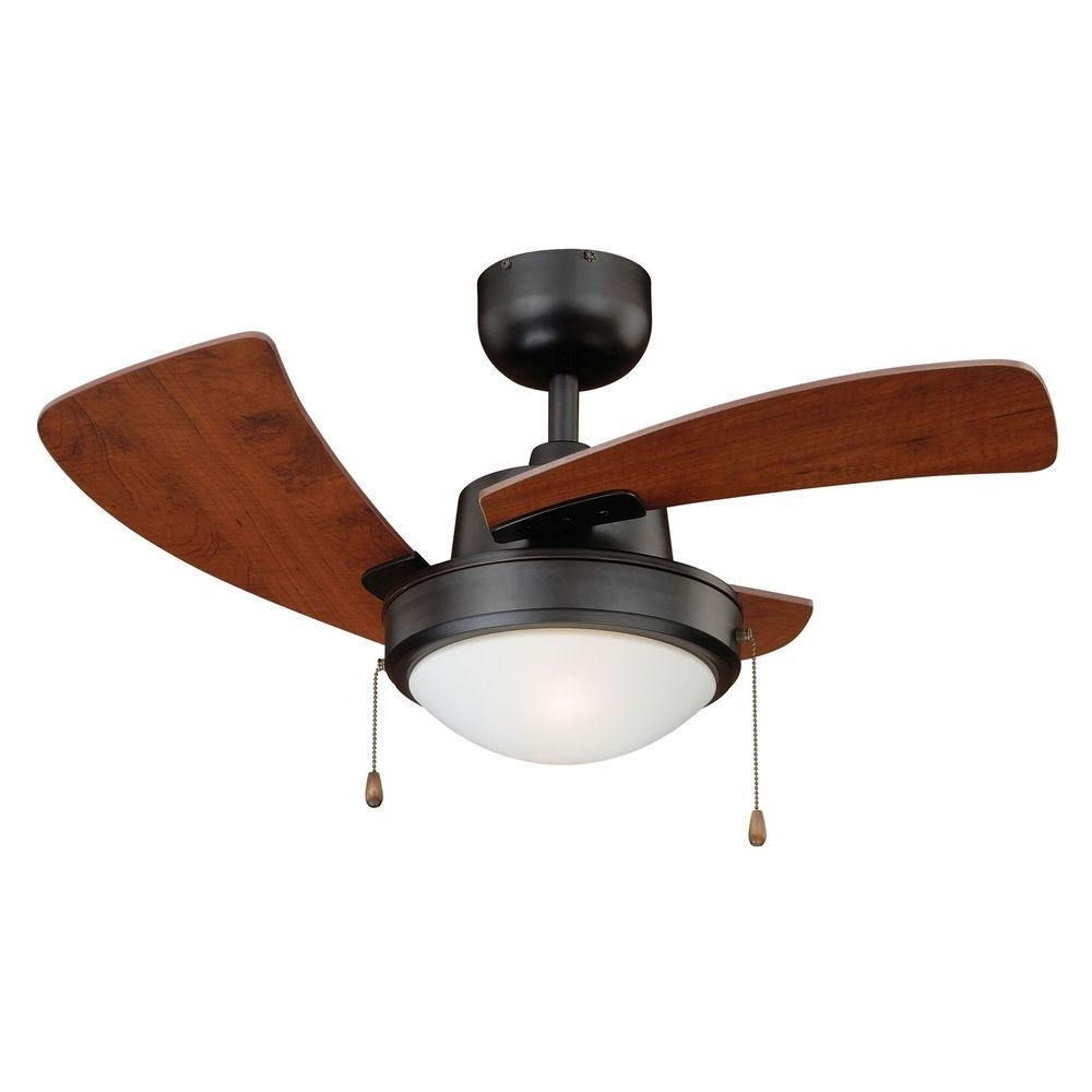Trendy Outdoor Ceiling Fans With Pull Chain With Regard To 36 Inch Bronze Contemporary Ceiling Fan W/light Kit & Pull Chain (View 13 of 20)