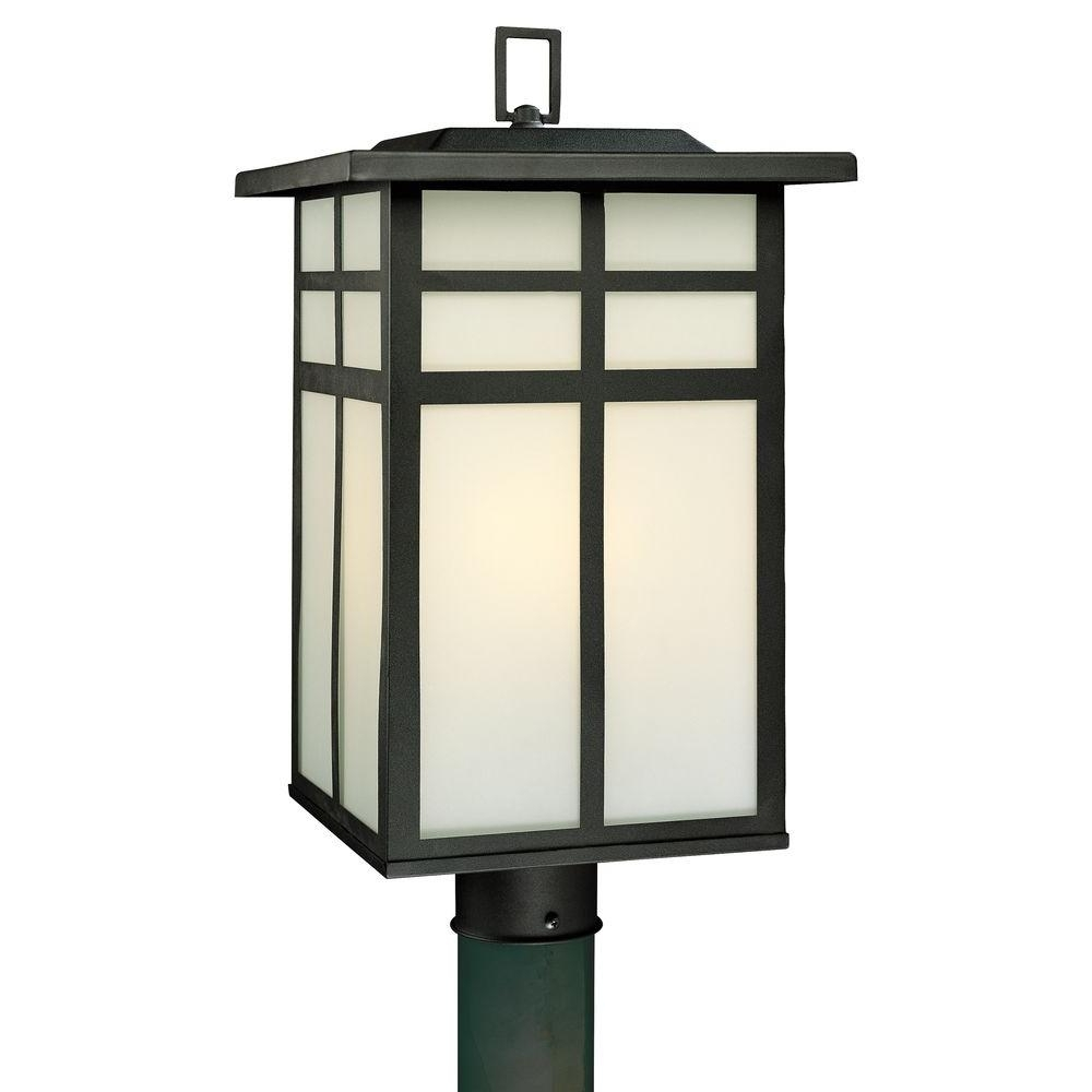 Trendy Outdoor Lanterns On Post Inside Thomas Lighting – Post Lighting – Outdoor Lighting – The Home Depot (View 19 of 20)