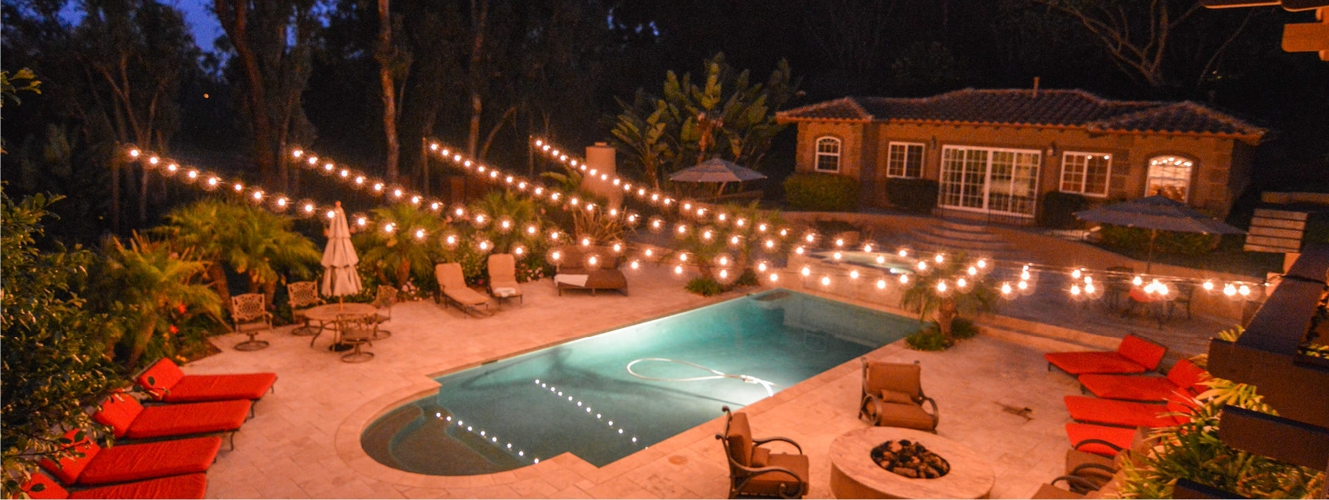 Trendy Outdoor String Lanterns Regarding Elegant Patio String Lighting Backyard String Lighting Ardoros M (View 19 of 20)