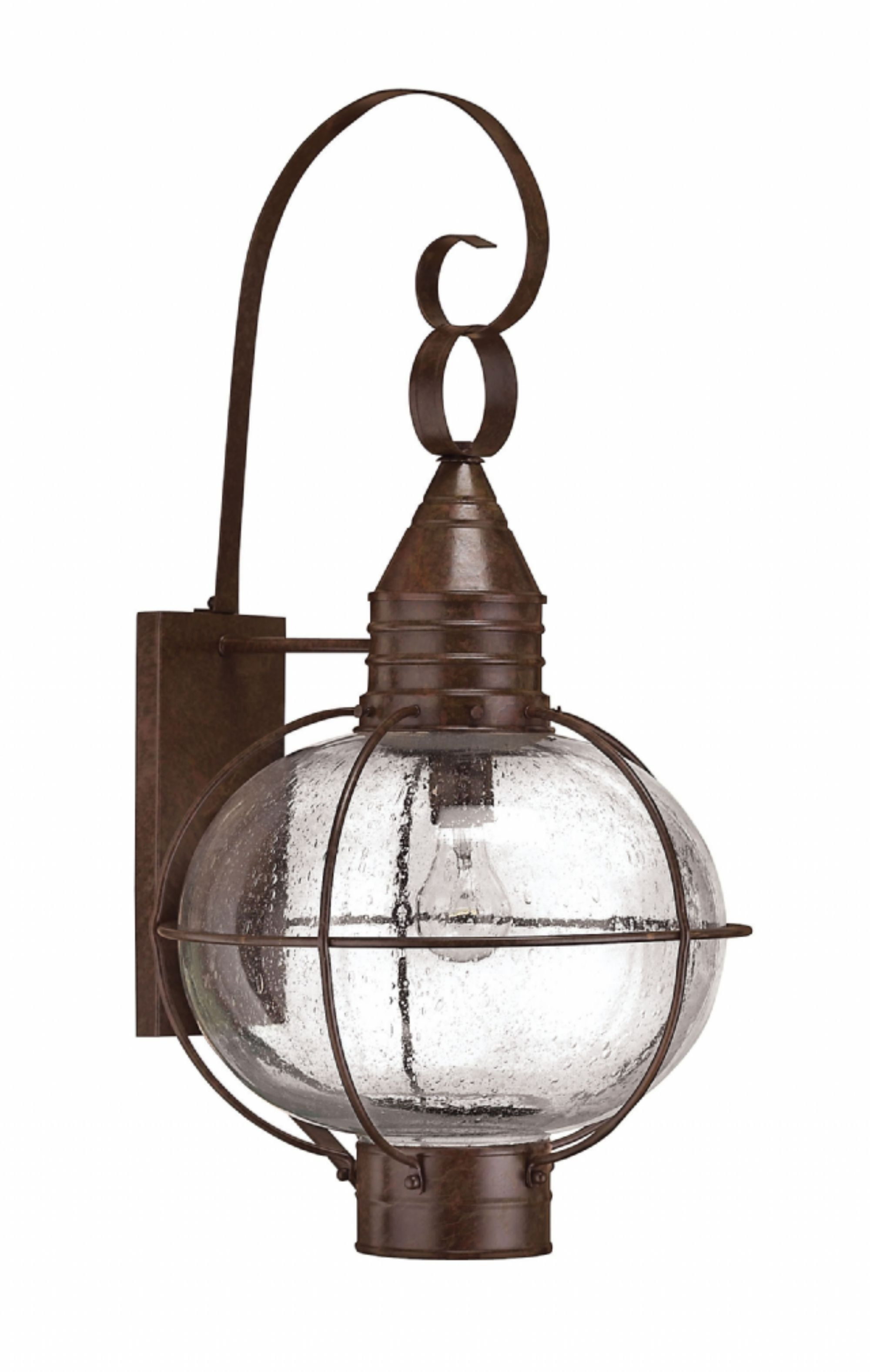 Trendy Sienna Bronze Cape Cod > Exterior Wall Mount Pertaining To Outdoor Lighting Onion Lanterns (Gallery 14 of 20)