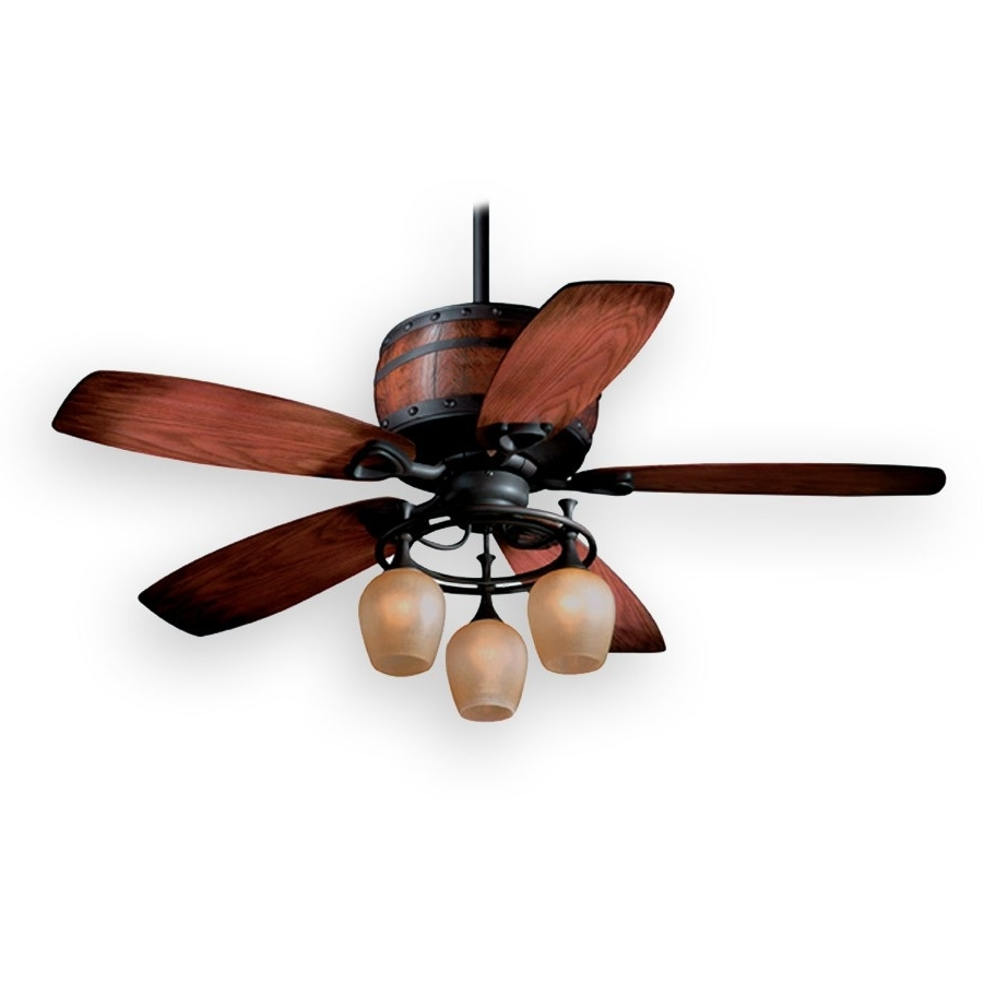 Trendy Unique Rustic Ceiling Fans (View 19 of 20)