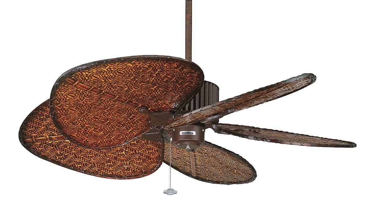 Tropical Design Outdoor Ceiling Fans Regarding Well Known Home Lighting Tropical Ceiling Fan Tropical Ceiling Fans Model Fan (Gallery 5 of 20)