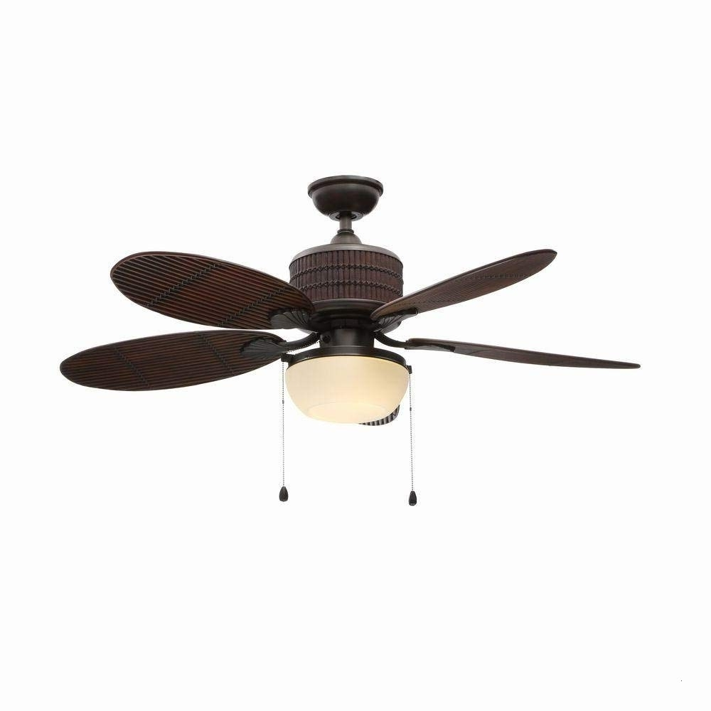 Tropical Outdoor Ceiling Fans For Famous Tropical Outdoor Ceiling Fans With Lights Elegant Home Decorators (View 17 of 20)