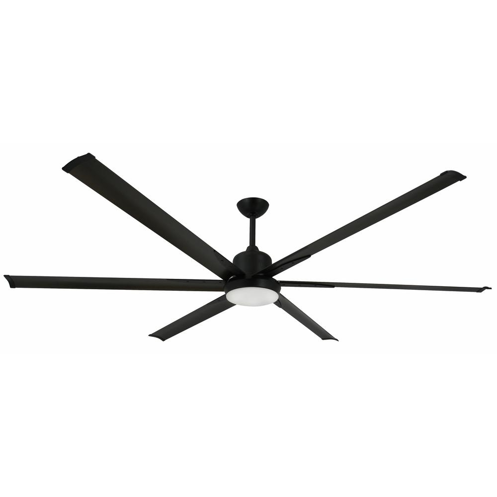 Troposair Titan 84 In. Indoor/outdoor Oil Rubbed Bronze Ceiling Fan Pertaining To Newest Industrial Outdoor Ceiling Fans With Light (Gallery 12 of 20)
